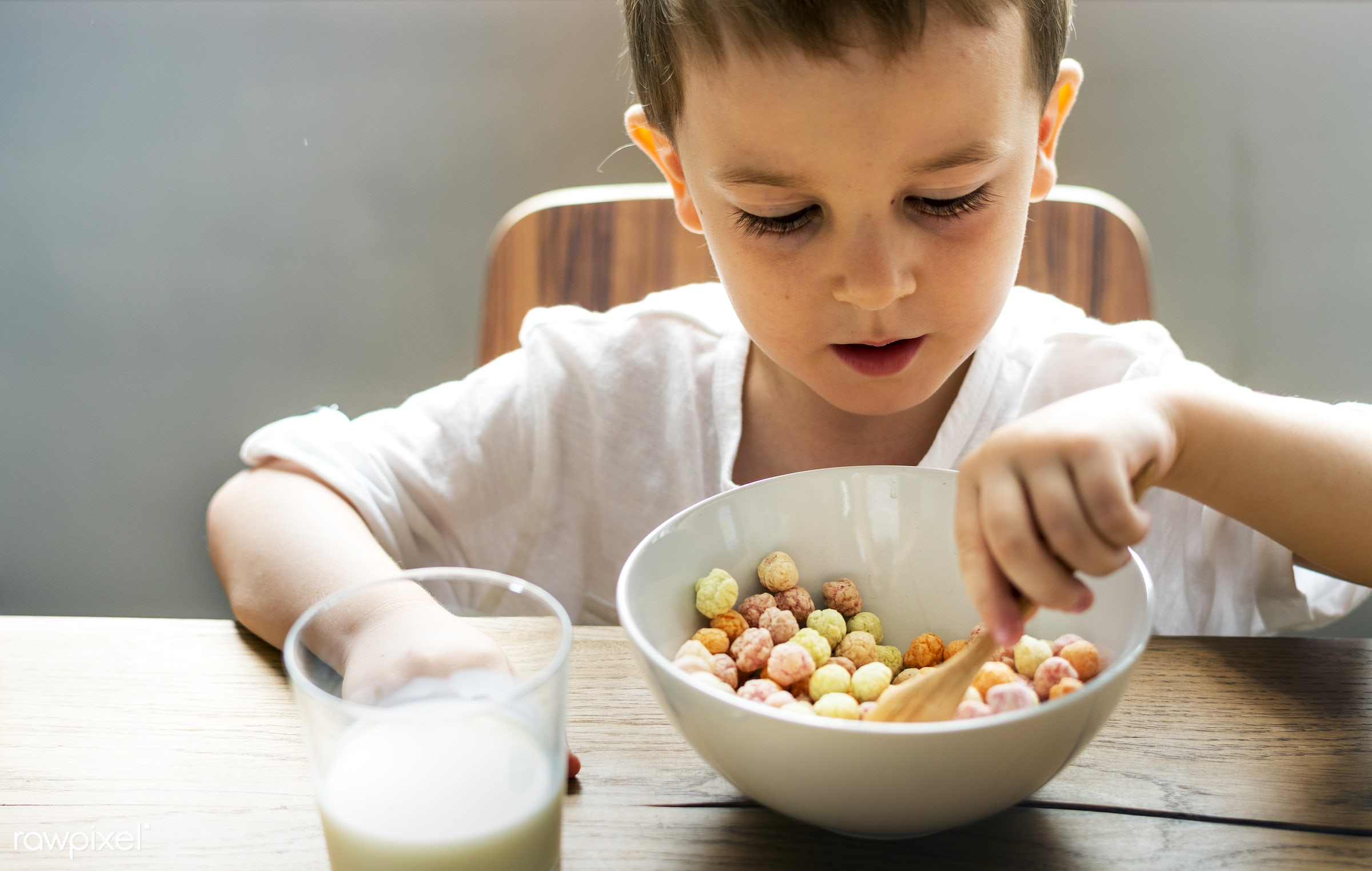 milk, adorable, background, bond, bowl, boy, breakfast, cereal, cheerful, child, children, cornflakes, cute, day, early,...