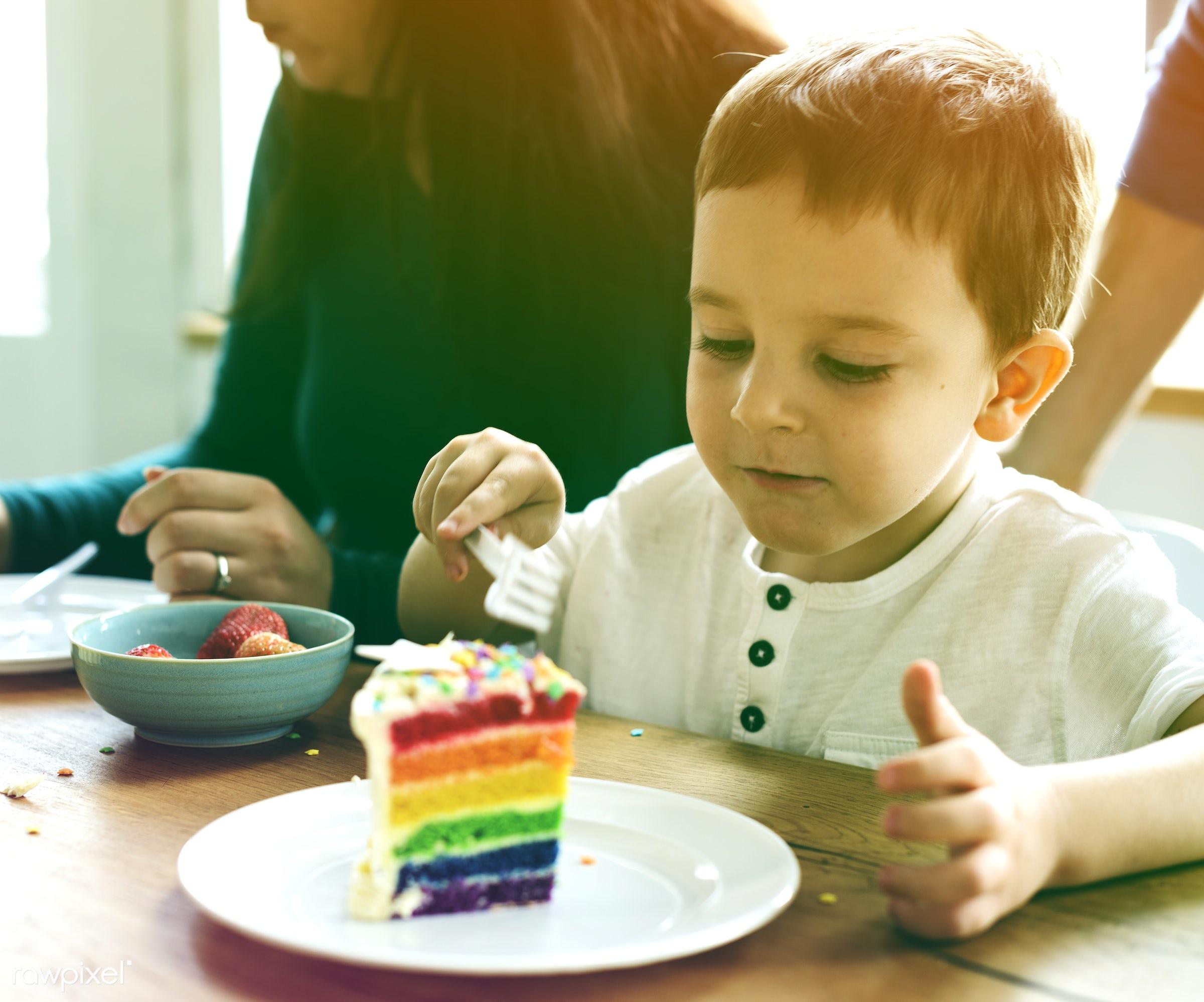 birth, rainbow cake, faded, little, vibrant, positivity, kid, event, family, blend, positive, cheerful, light, cake, art,...
