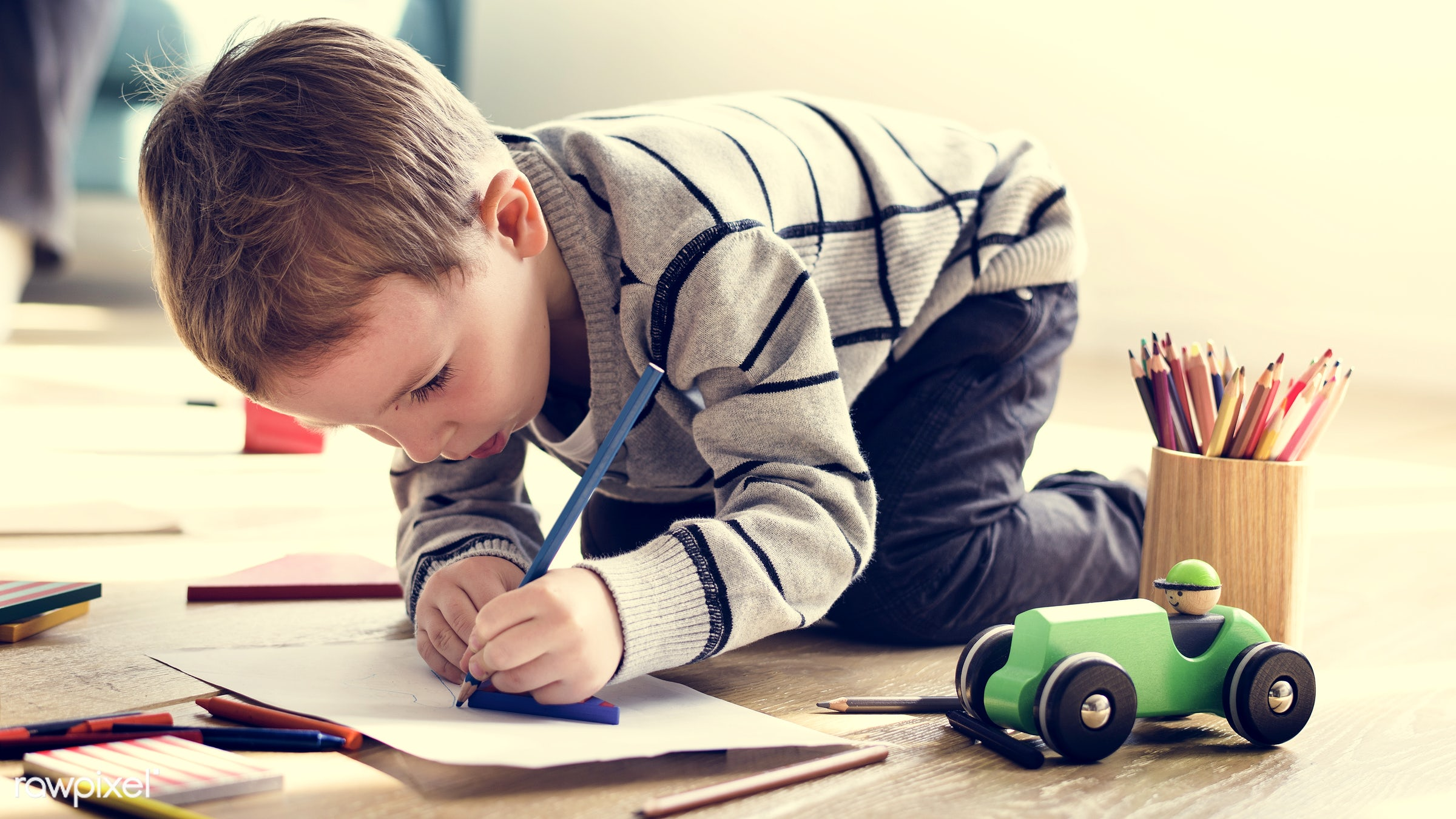 interior, colour pencil, concentrating, little, focusing, indoors, cute, creativity, drawing, sun, kid, playing, child,...