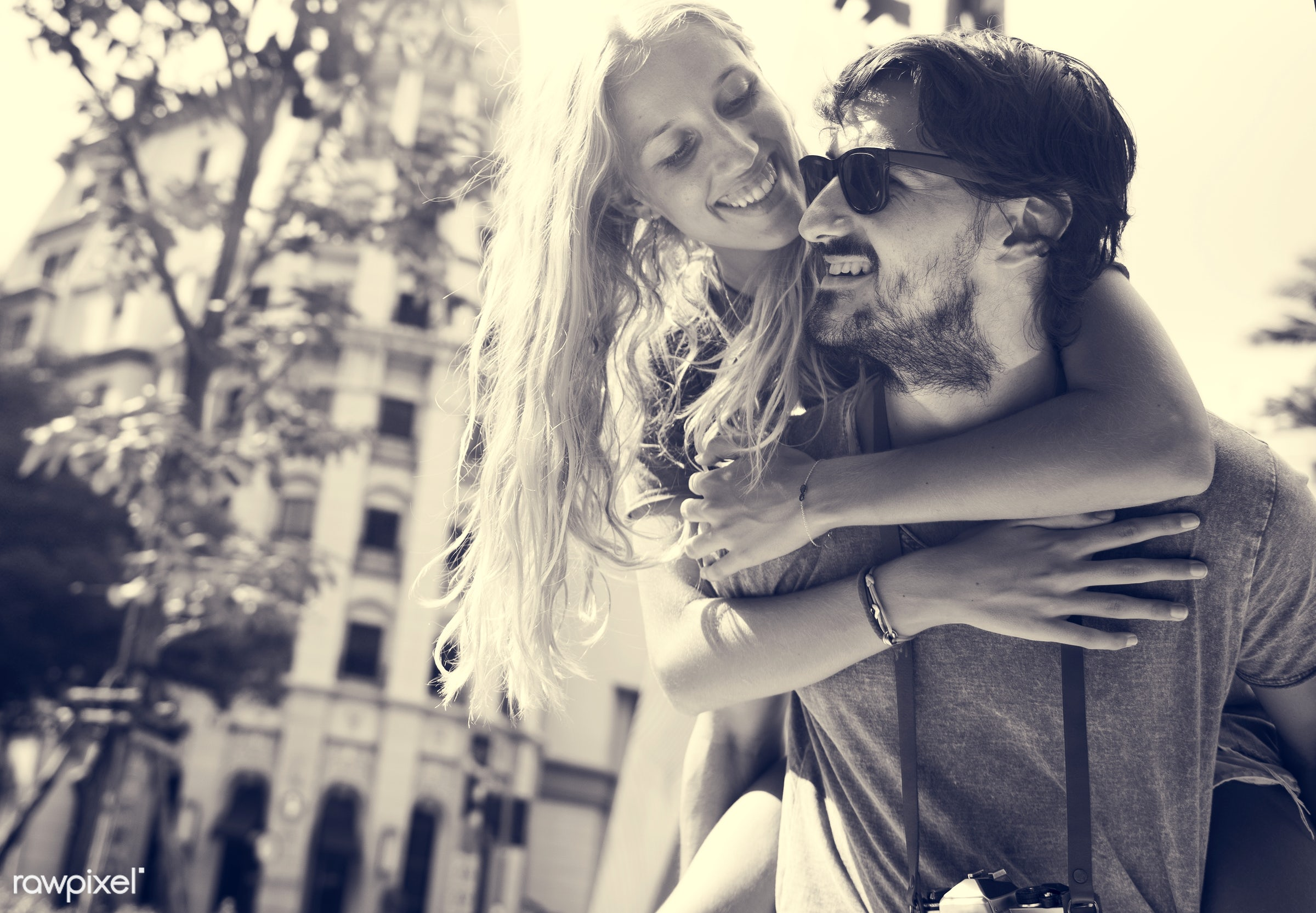 travel, bonding, people, together, city, love, woman, pda, partner, smile, cheerful, smiling, shades, closeness, affection,...