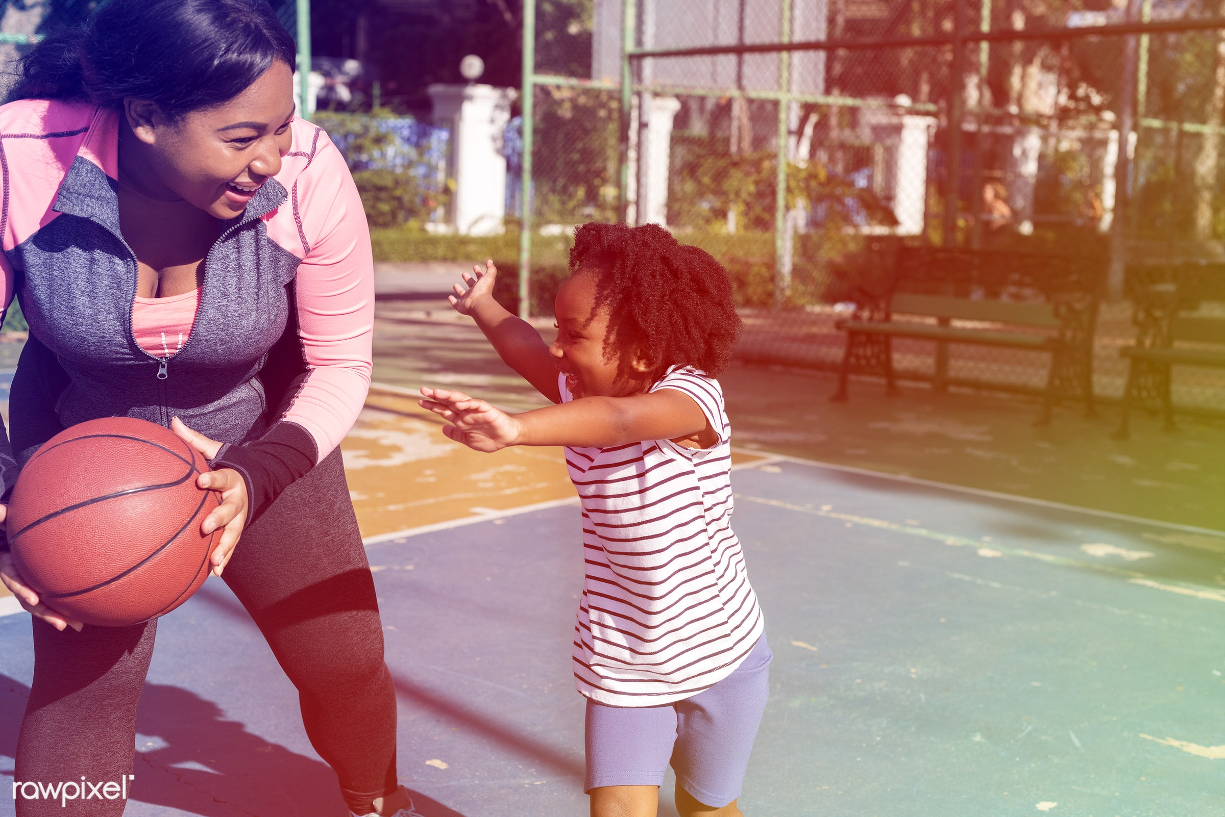 basketball, concept, athletics, african, player, street, faded, court, exercise, vibrant, recreation, father, style, arena,...