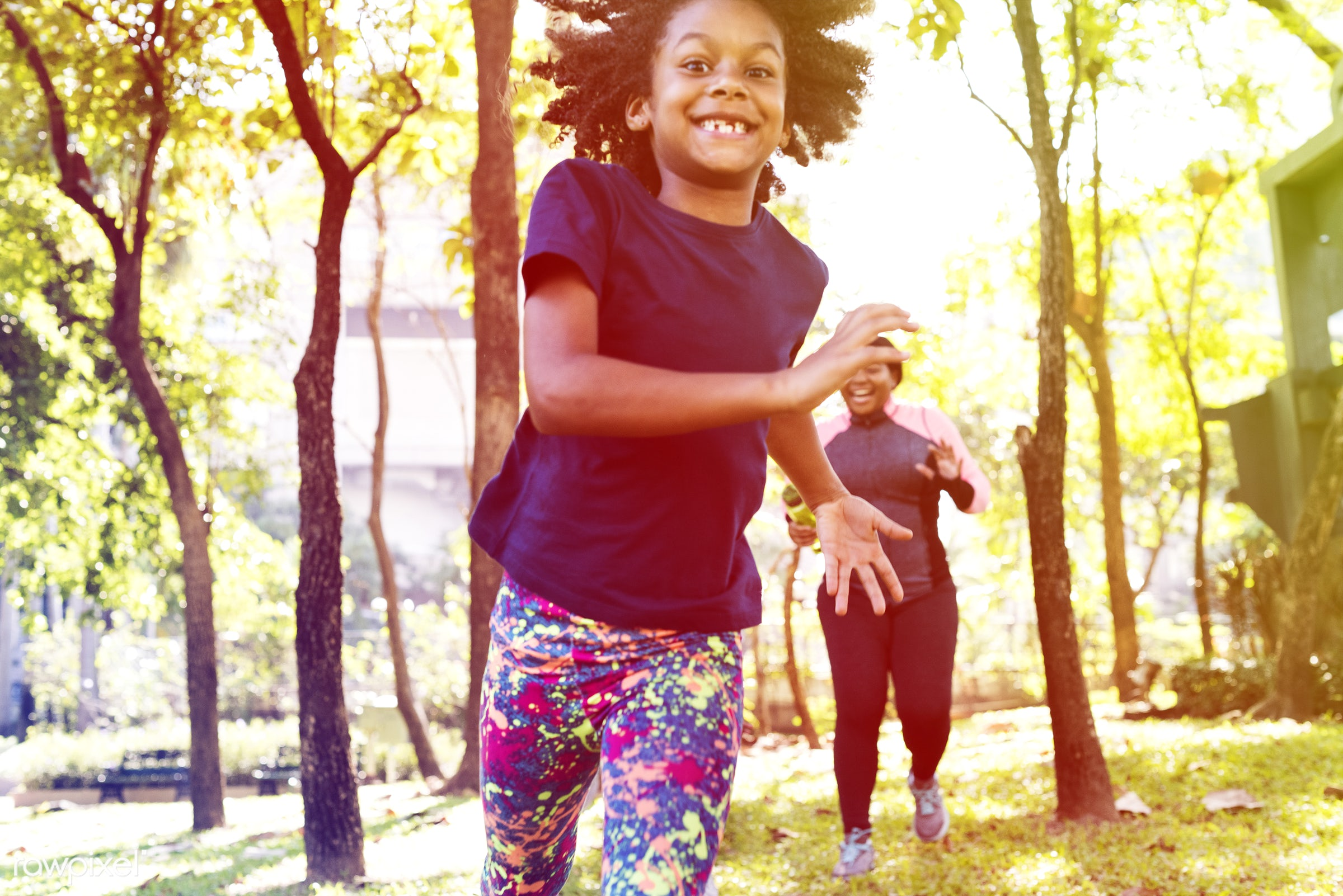 parents, african, land, daughter, exercise, recreation, running, related, love, nature, green area, family, wellness,...
