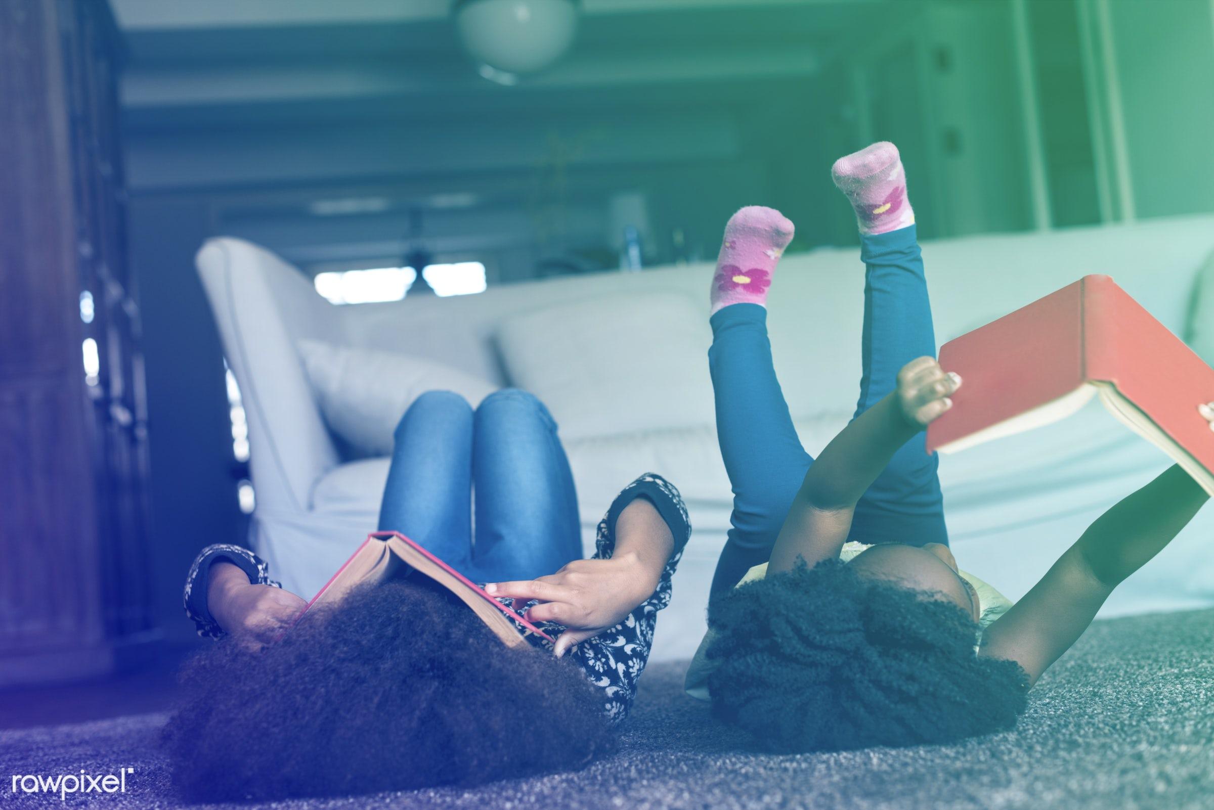 person, relax, sisterhood, carpet, house, people, break, family, serenity, lifestyle, childhood, little girl, home sweet...