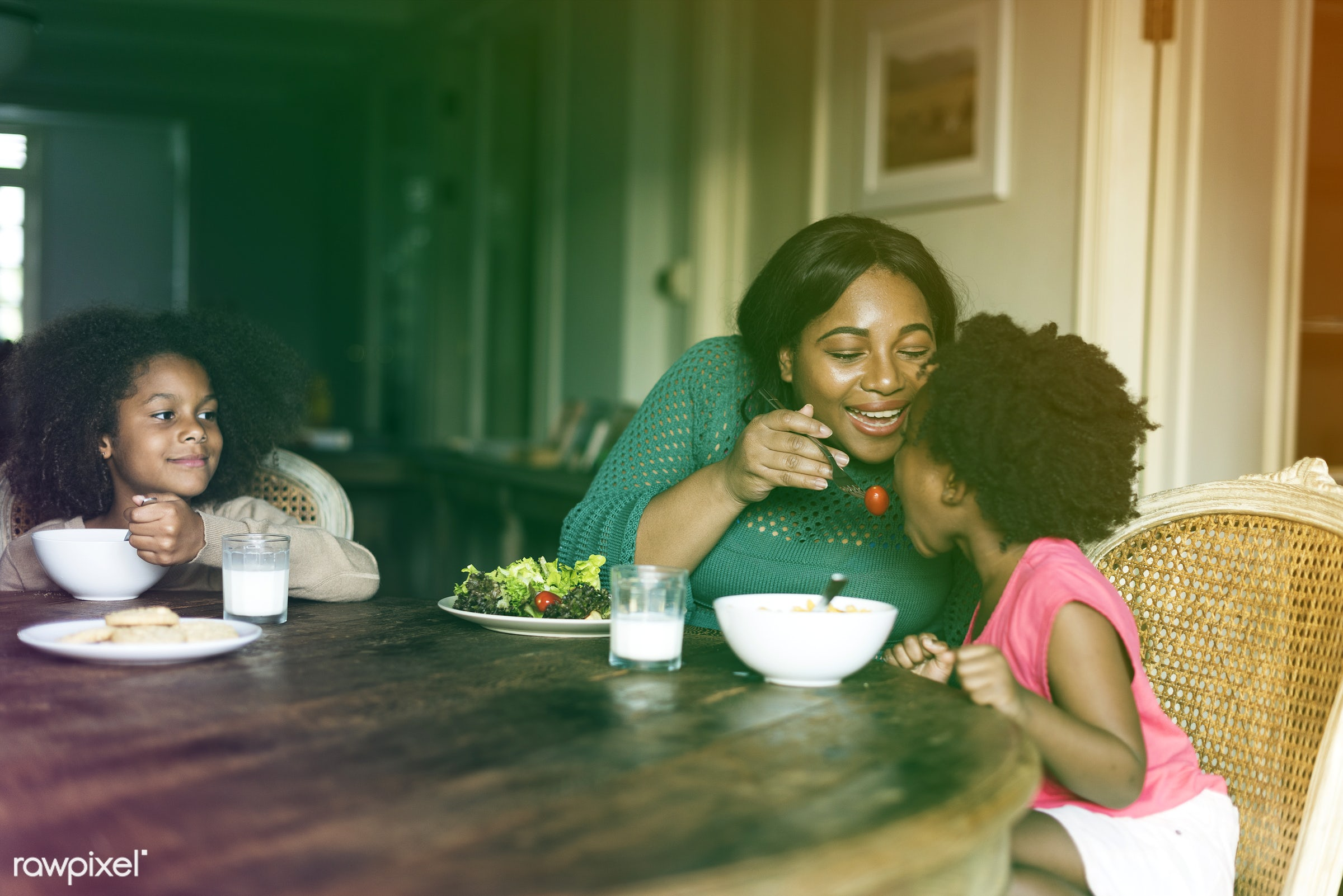 salad, calm, home, african, freedom, residential, relax, daughter, house, people, sister, kiss, life, serenity, family,...