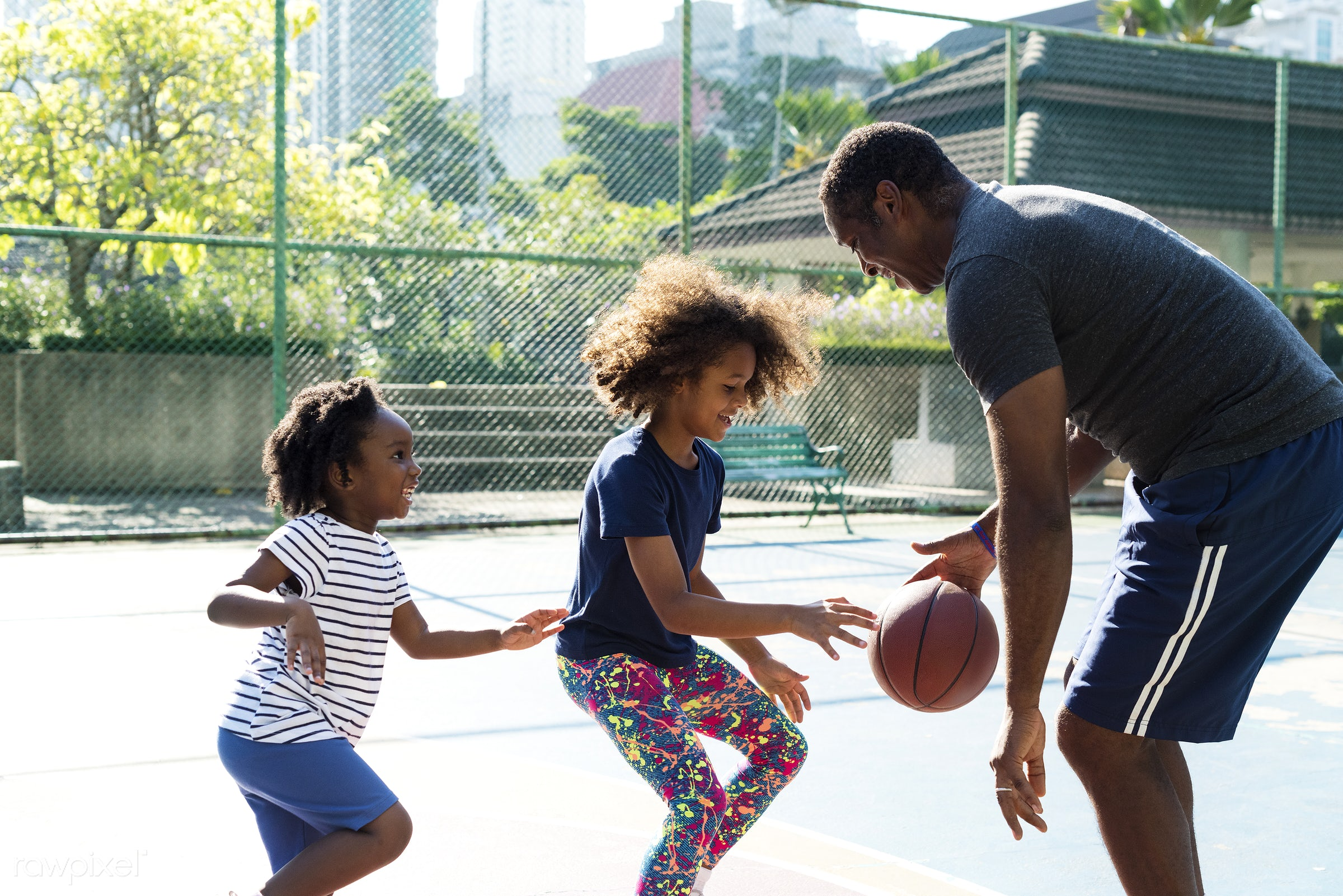 basketball, athletics, player, african, street, court, exercise, recreation, father, sister, arena, family, activity,...