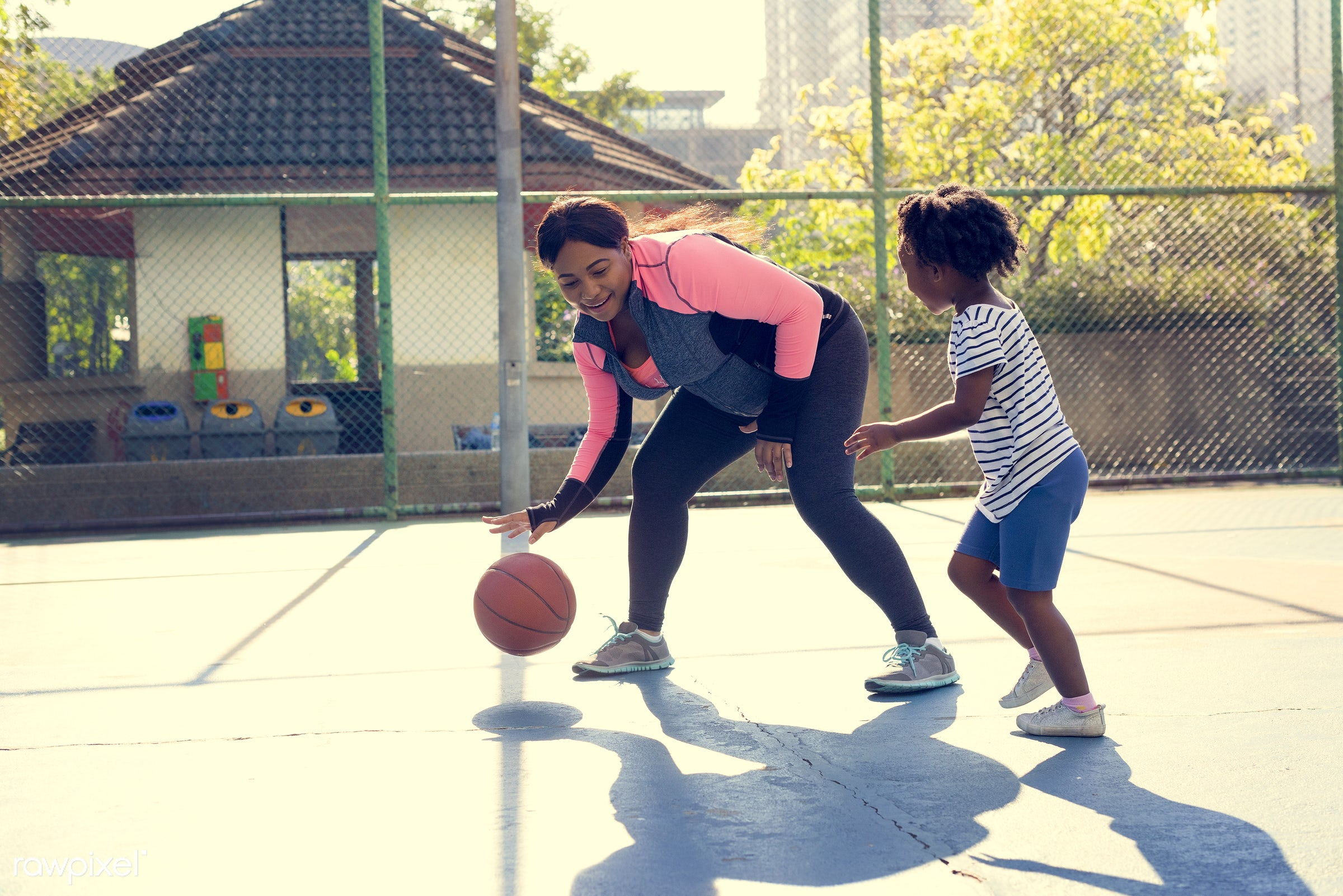 basketball, athletics, player, african, street, court, exercise, recreation, arena, family, activity, athlete, ball, play,...