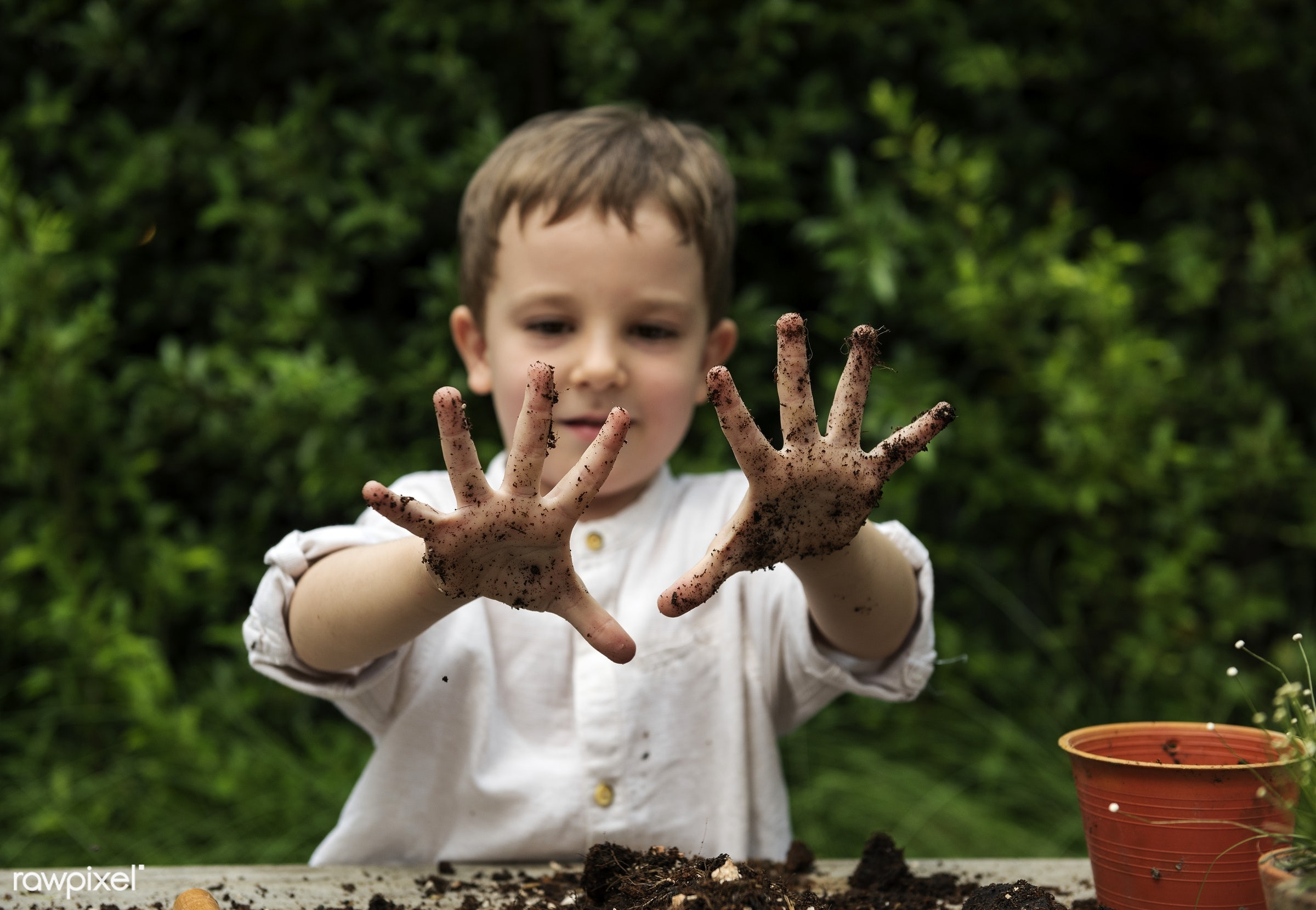 playful, children, little, cute, positivity, kid, child, cheeky, happy, pottery, dirty, smile, positive, dirt, smiling,...