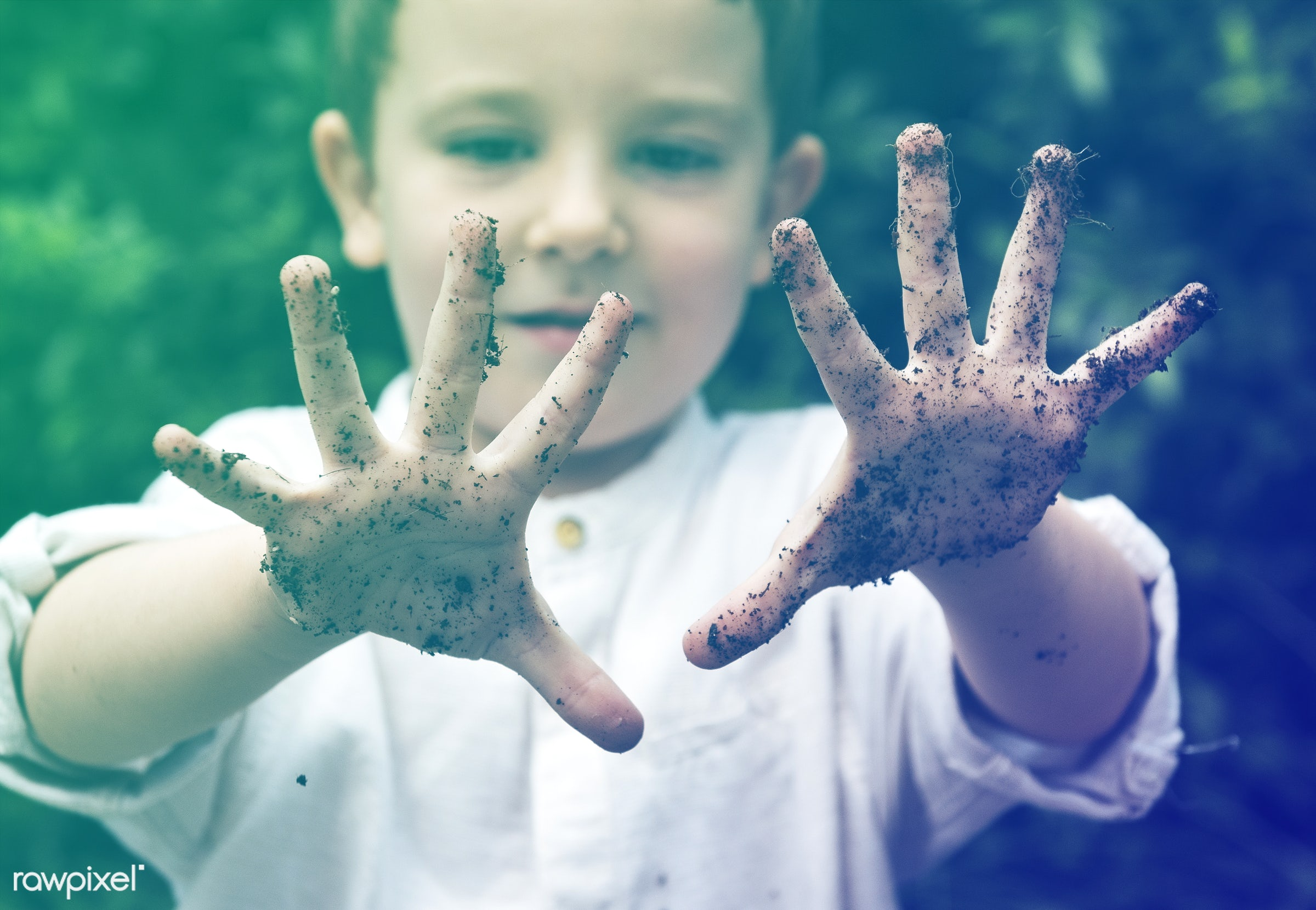 playful, little, children, cute, positivity, kid, child, cheeky, lomo, happy, pottery, dirty, smile, positive, dirt, smiling...