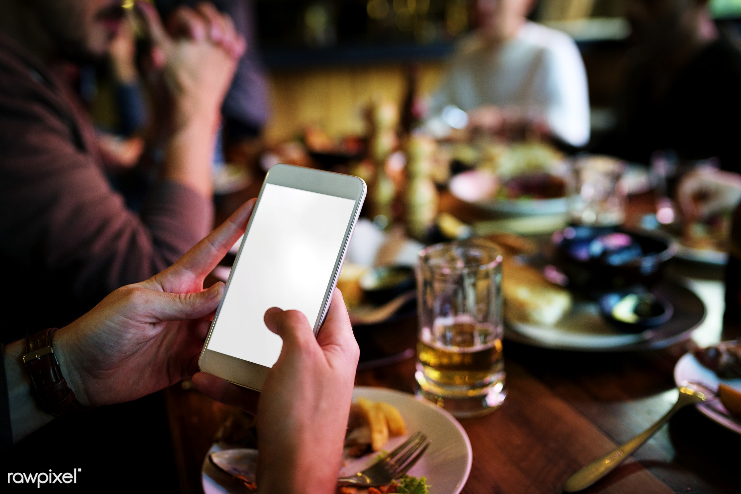 phone, beer, mockup, mock up, party, adult, attention, beverage, blank, break, cafe, cellphone, chill, copy space, dinner,...
