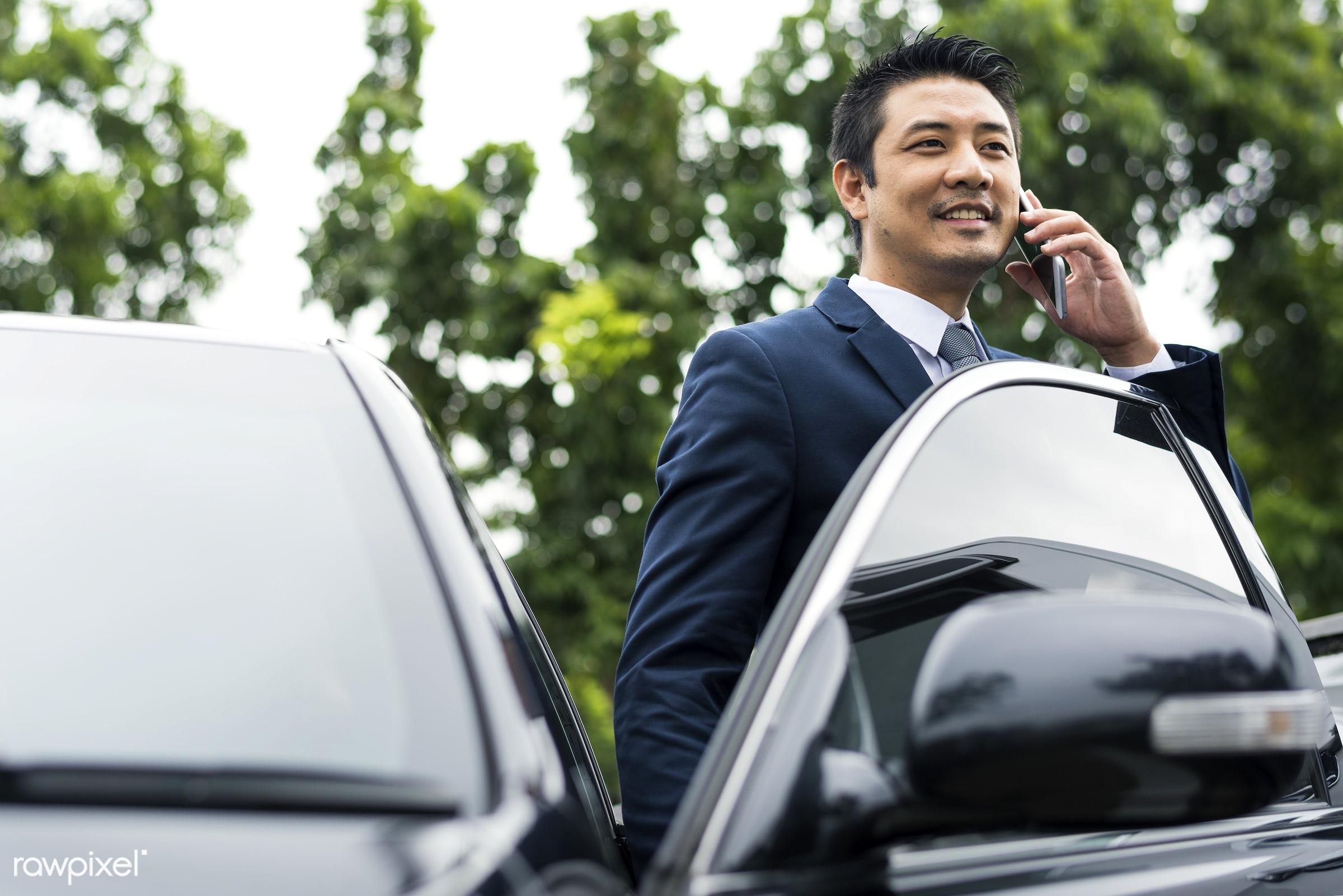 business, car, call, adult, businessman, businessmen, candid, cellphone, communication, corporate, device, digital device,...