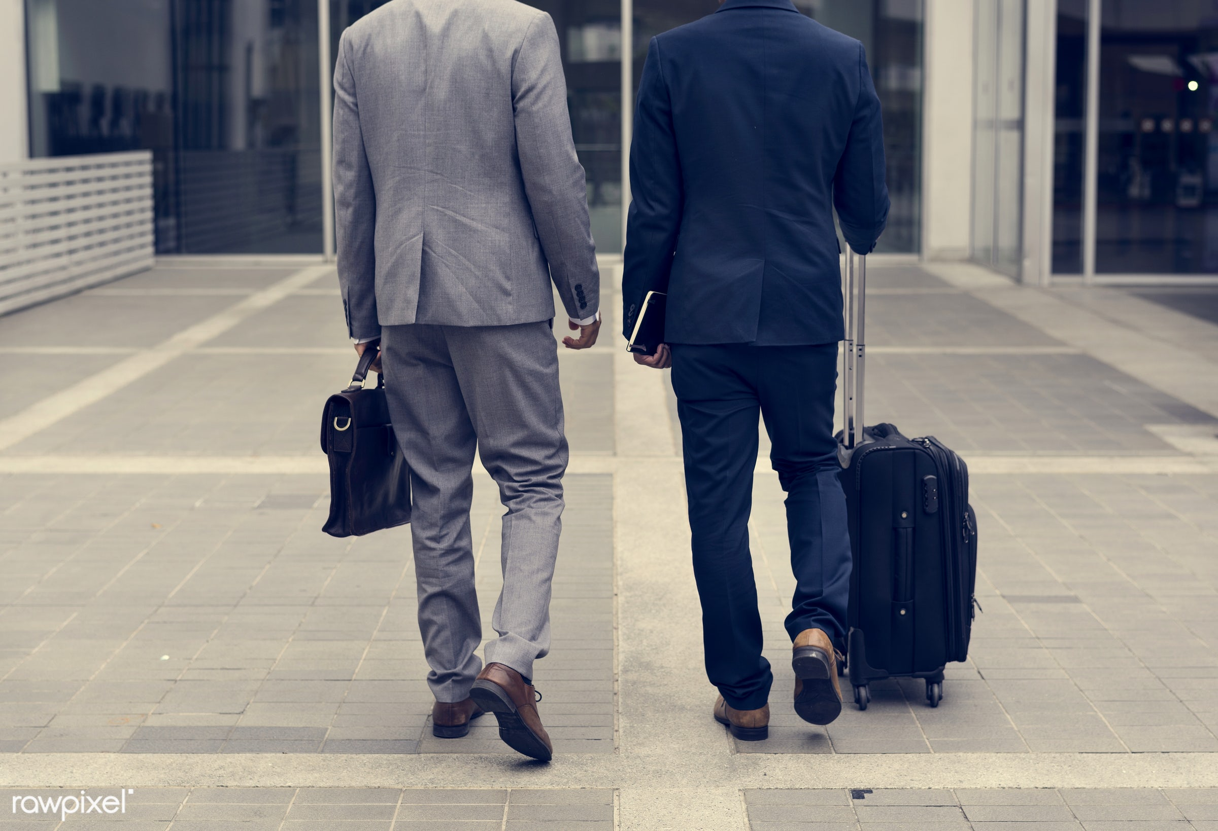 business trip, expression, face, person, suit and tie, manager, white collar worker, diverse, luggage, travel, people,...