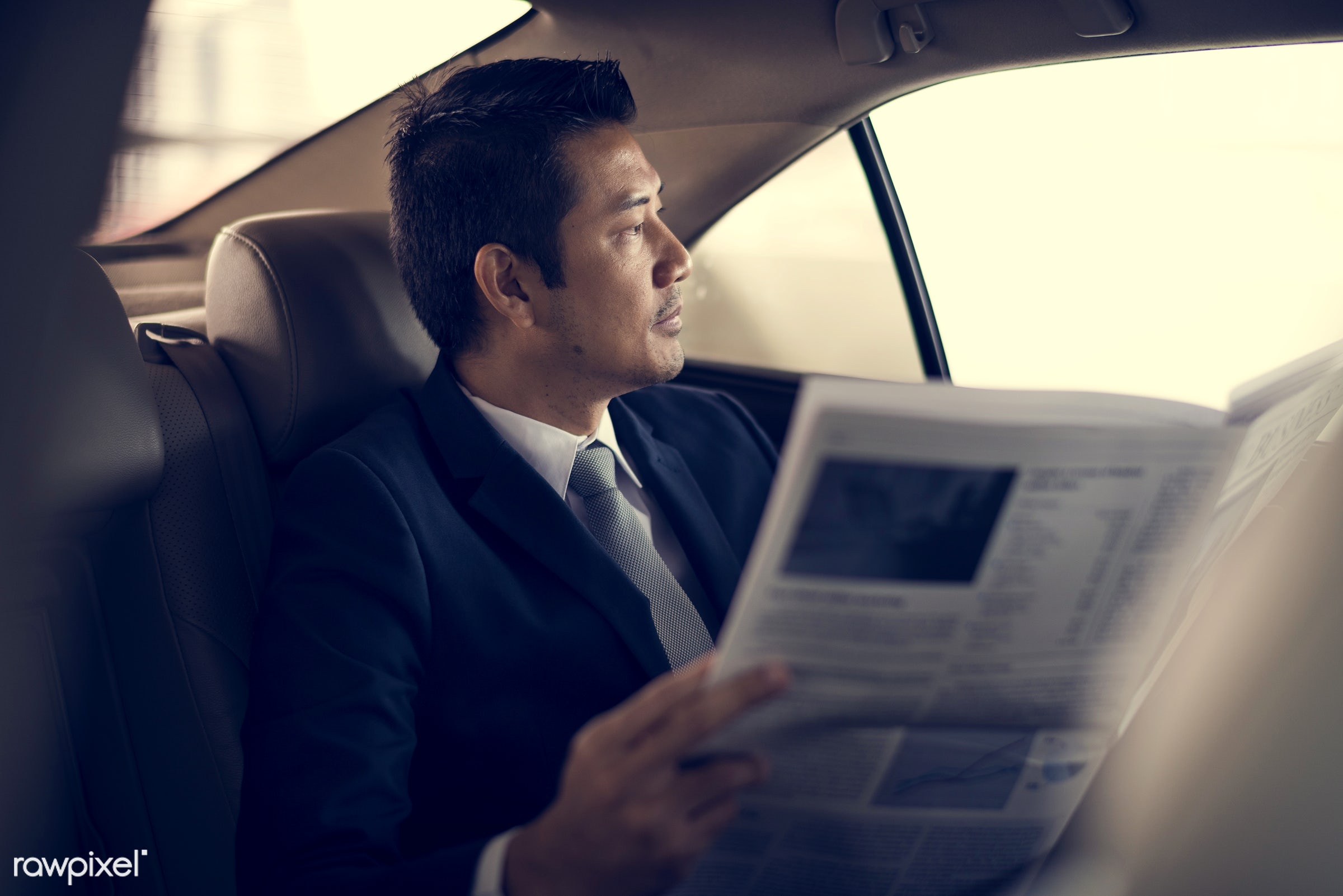 adult, back seat, break, breaking news, business, businessman, businessmen, candid, car, communication, corporate, employee...