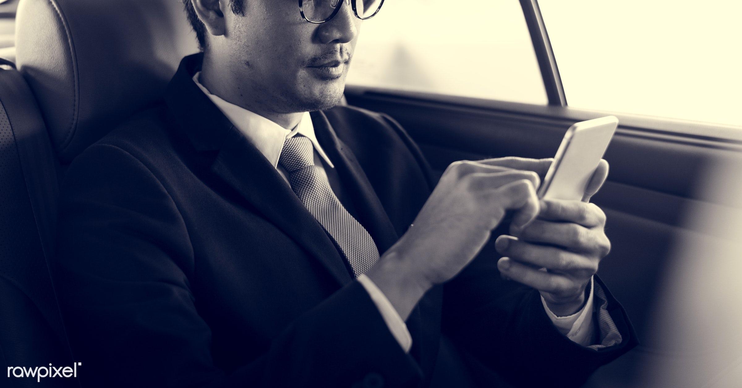 adult, business, businessman, businessmen, candid, car, cellphone, communication, corporate, device, digital device,...