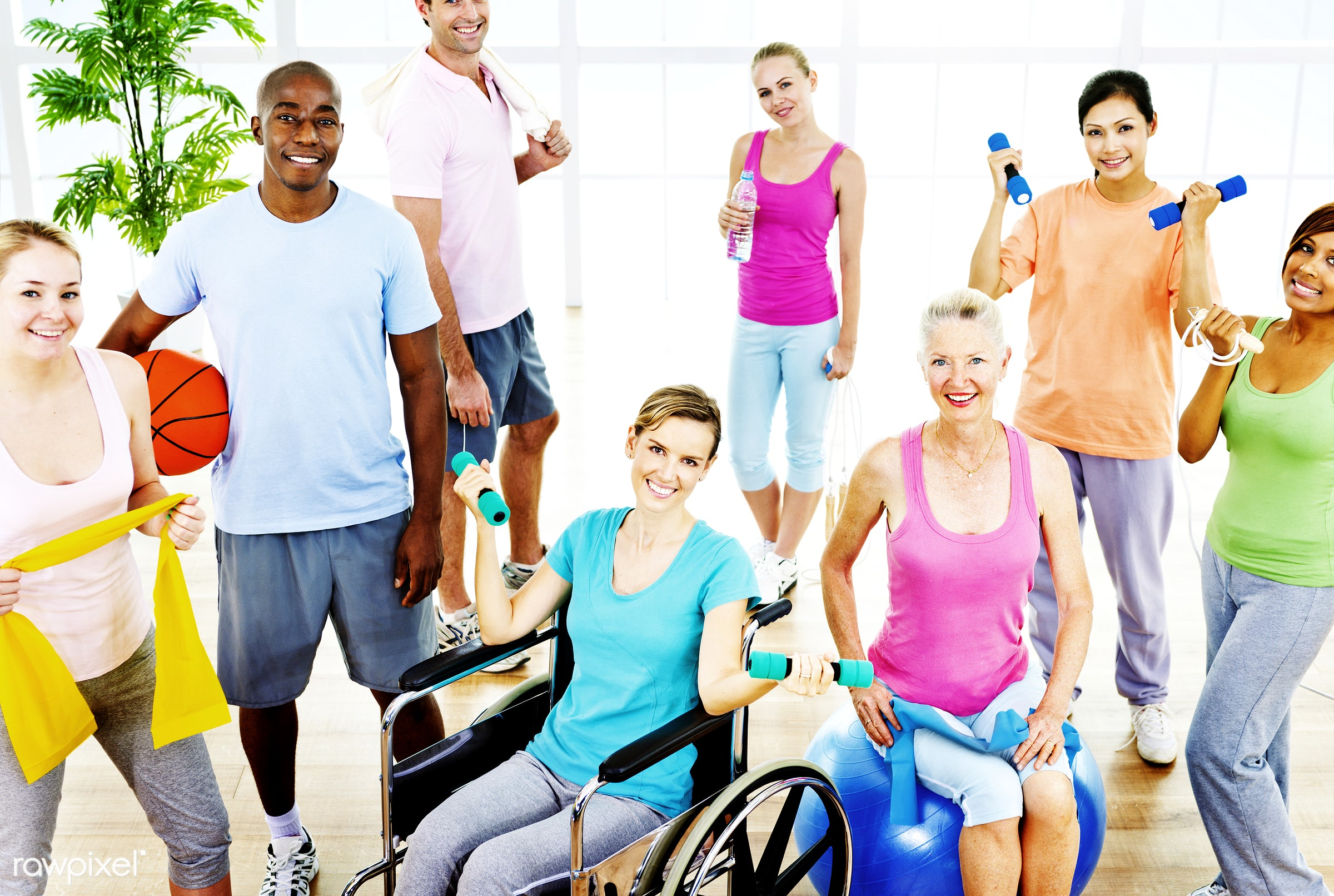 activity, adult, african descent, asian ethnicity, balance, basketball, body care, caucasian, cheerful, class room,...