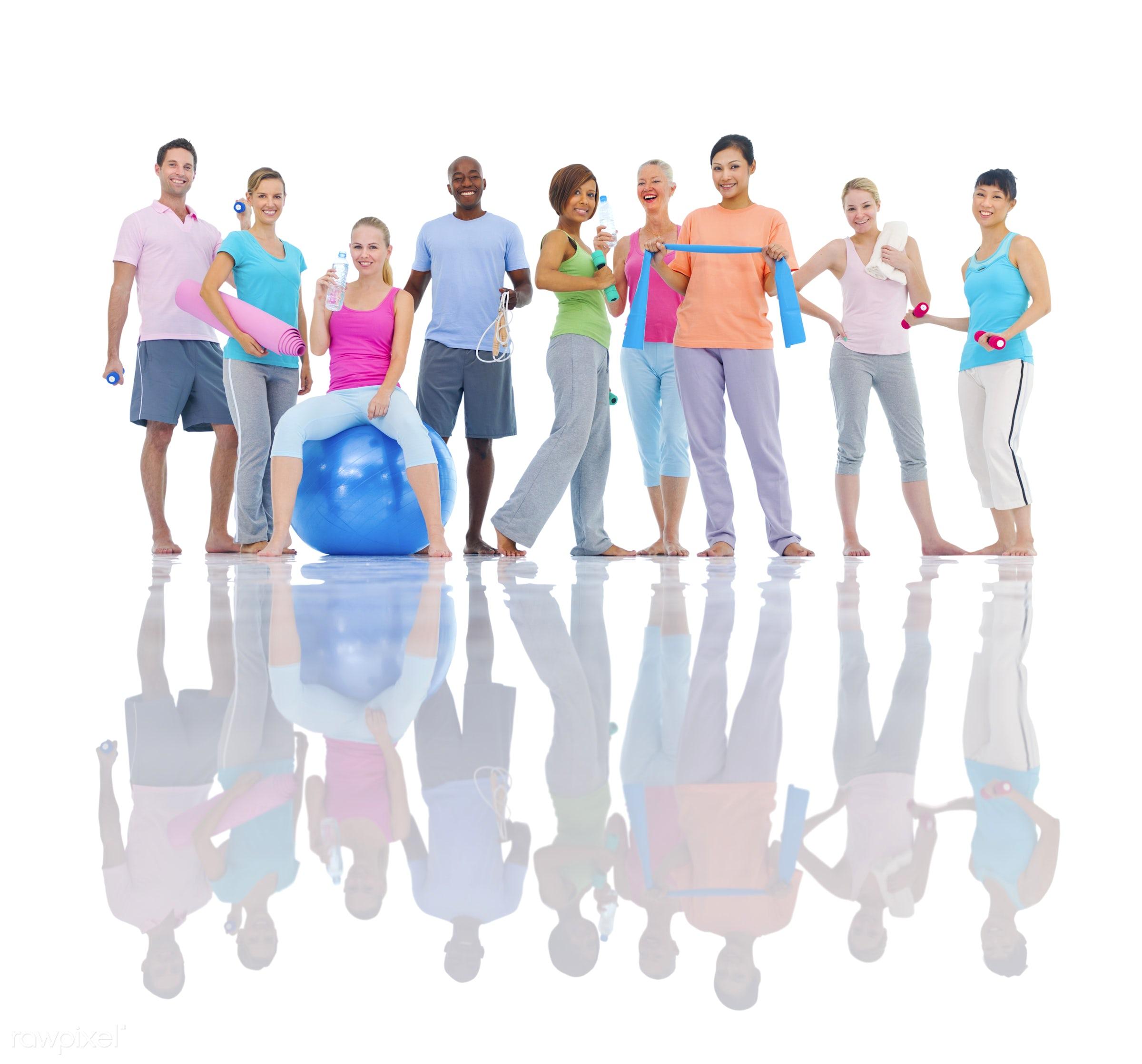 caucasian, lifestyles, activity, adult, african descent, asian ethnicity, balance, body care, break, cheerful, classroom,...