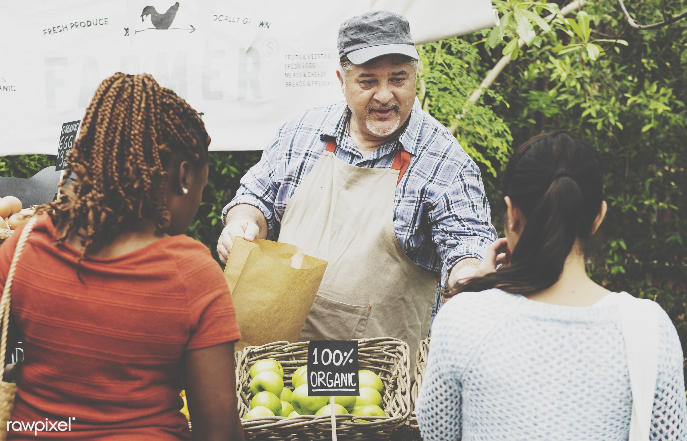 grocery, shop, person, store, stall, buy, consumer, people, farmer, woman, choosing, lifestyle, choose, smiling, fruit,...