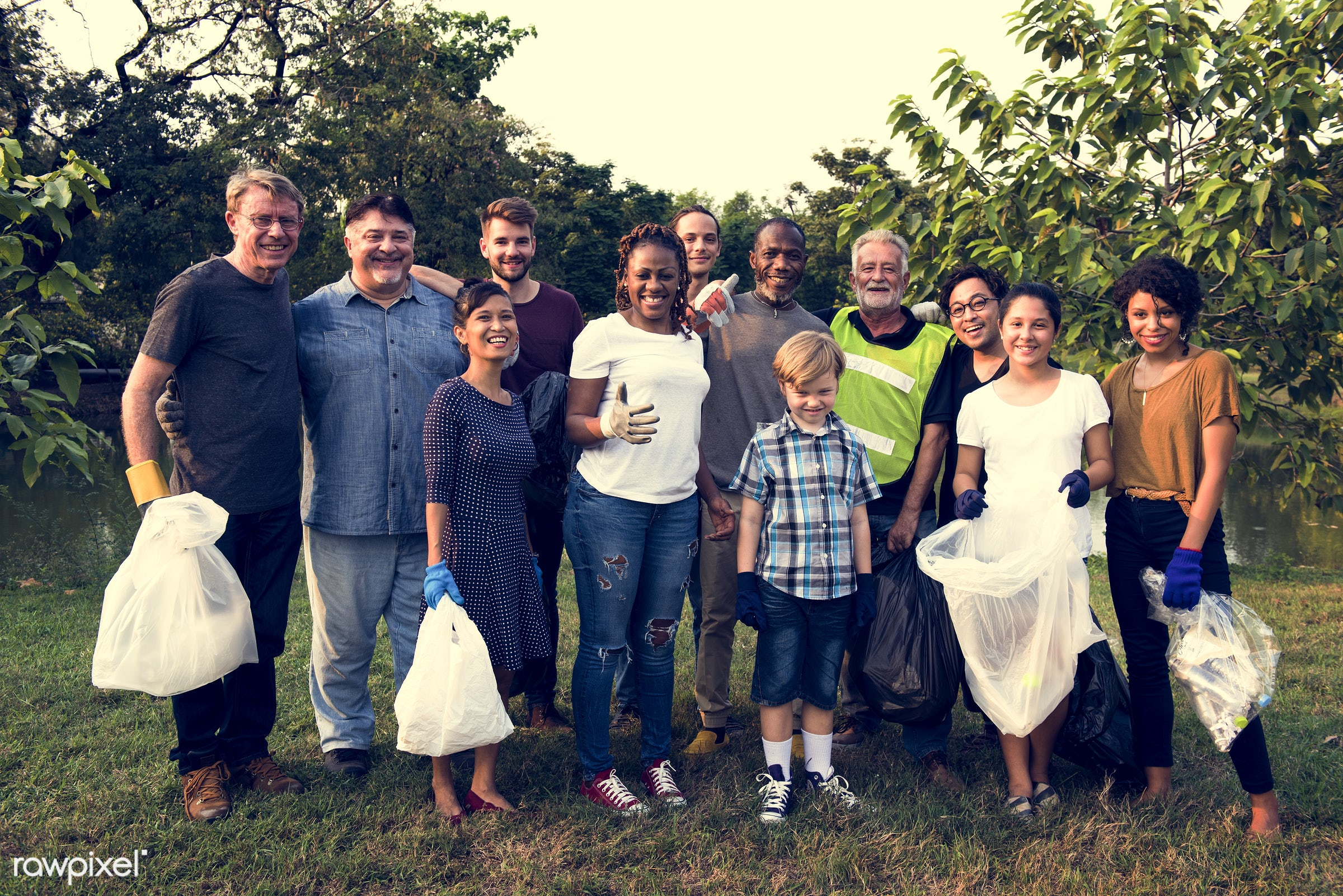 person, diverse, charity, garbage, people, together, kid, friends, nature, woman, family, social, lifestyle, care, voluntary...