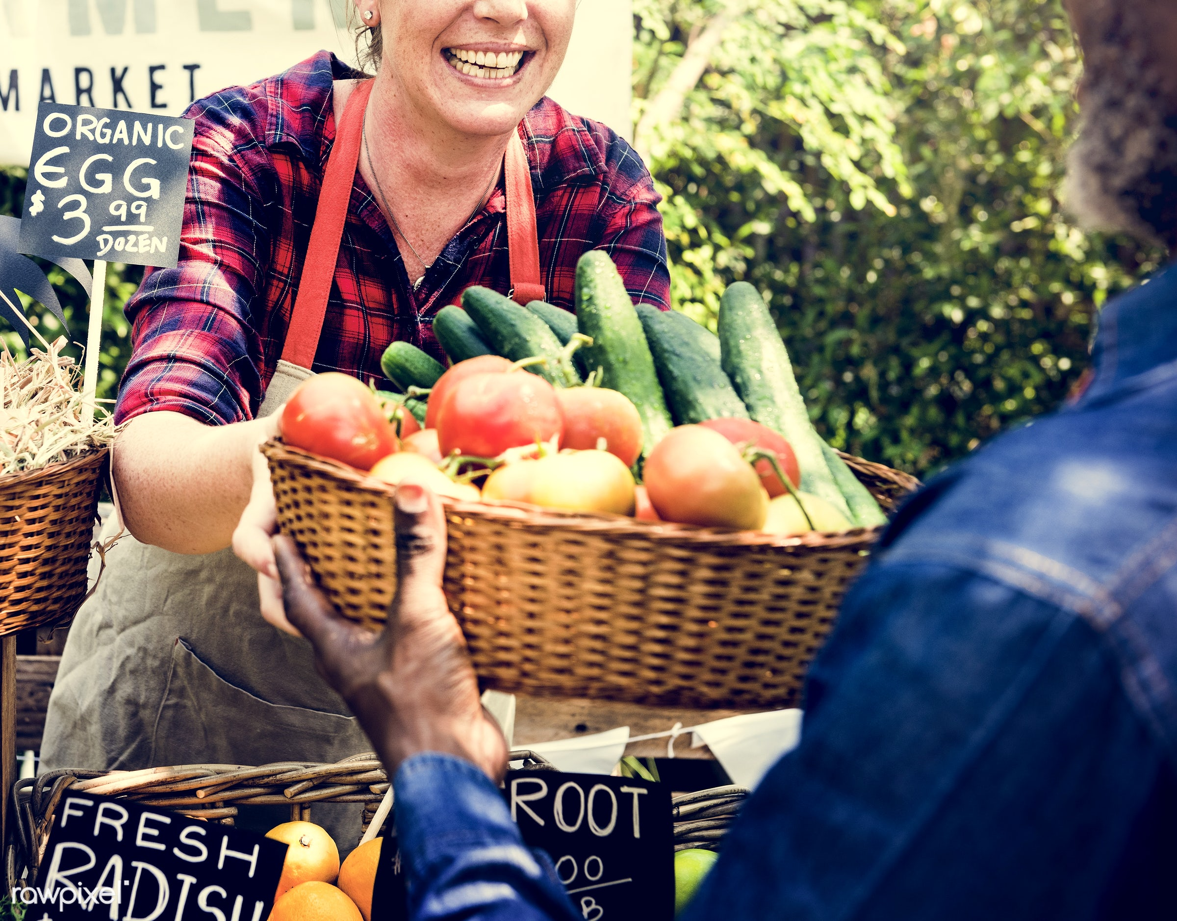 grocery, person, stall, store, customer, people, lifestyle, smiling, fruit, selling, health, nutrition, gardener, market,...
