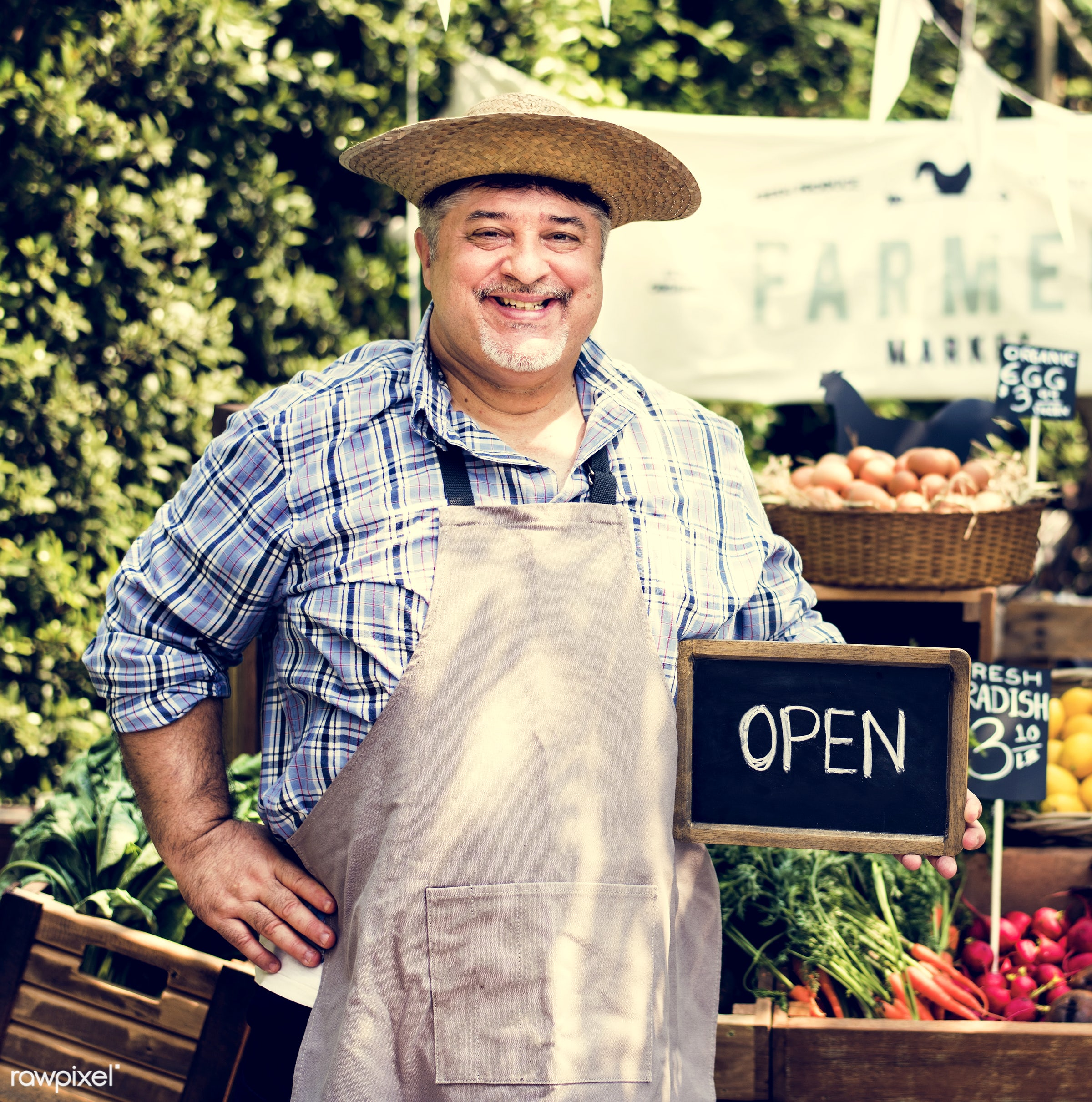 grocery, person, store, stall, people, lifestyle, smiling, fruit, selling, health, nutrition, gardener, market, food, owner...