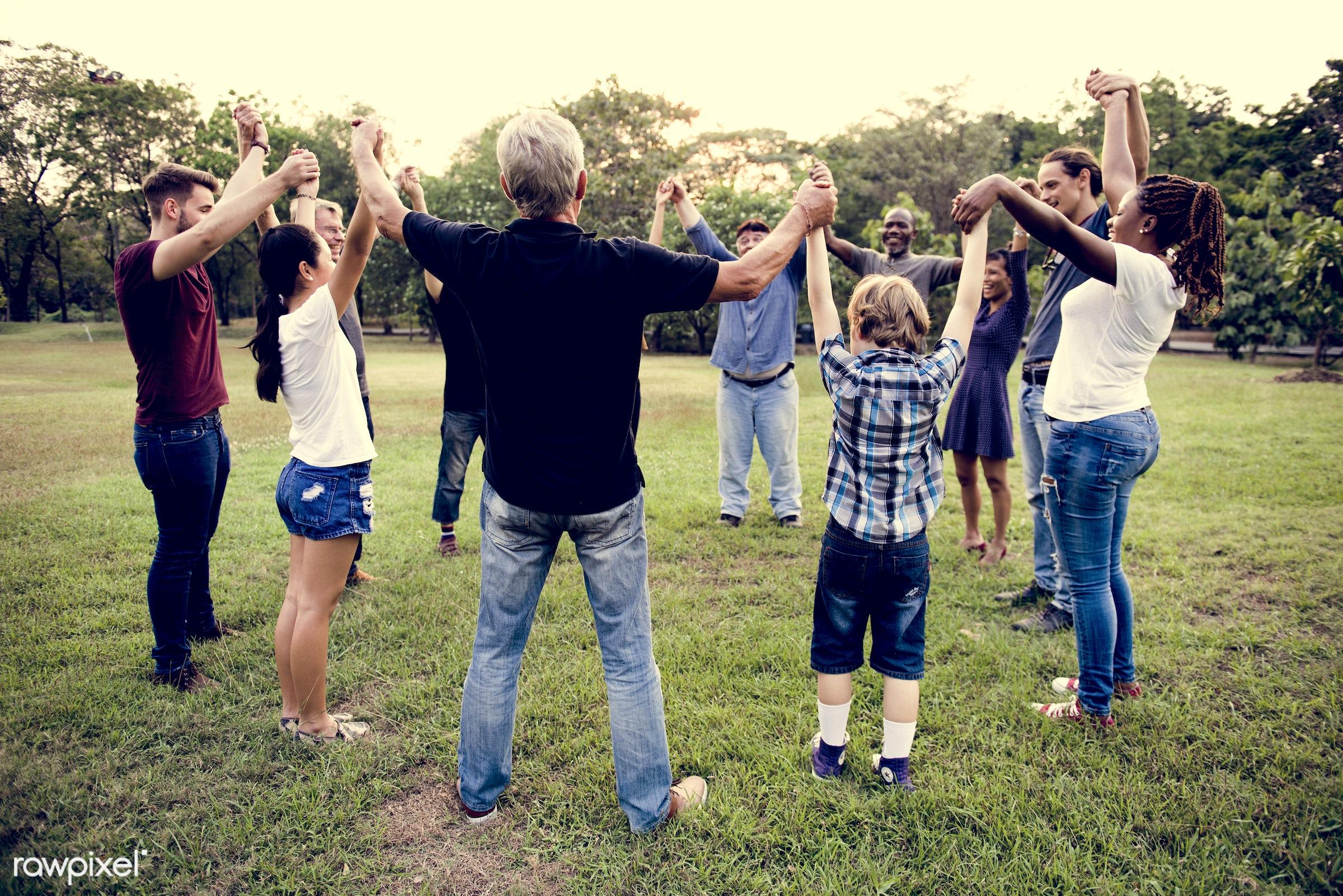 countryside, diverse, bonding, neighbor, people, positivity, kid, friends, tree, nature, woman, lifestyle, friendship,...