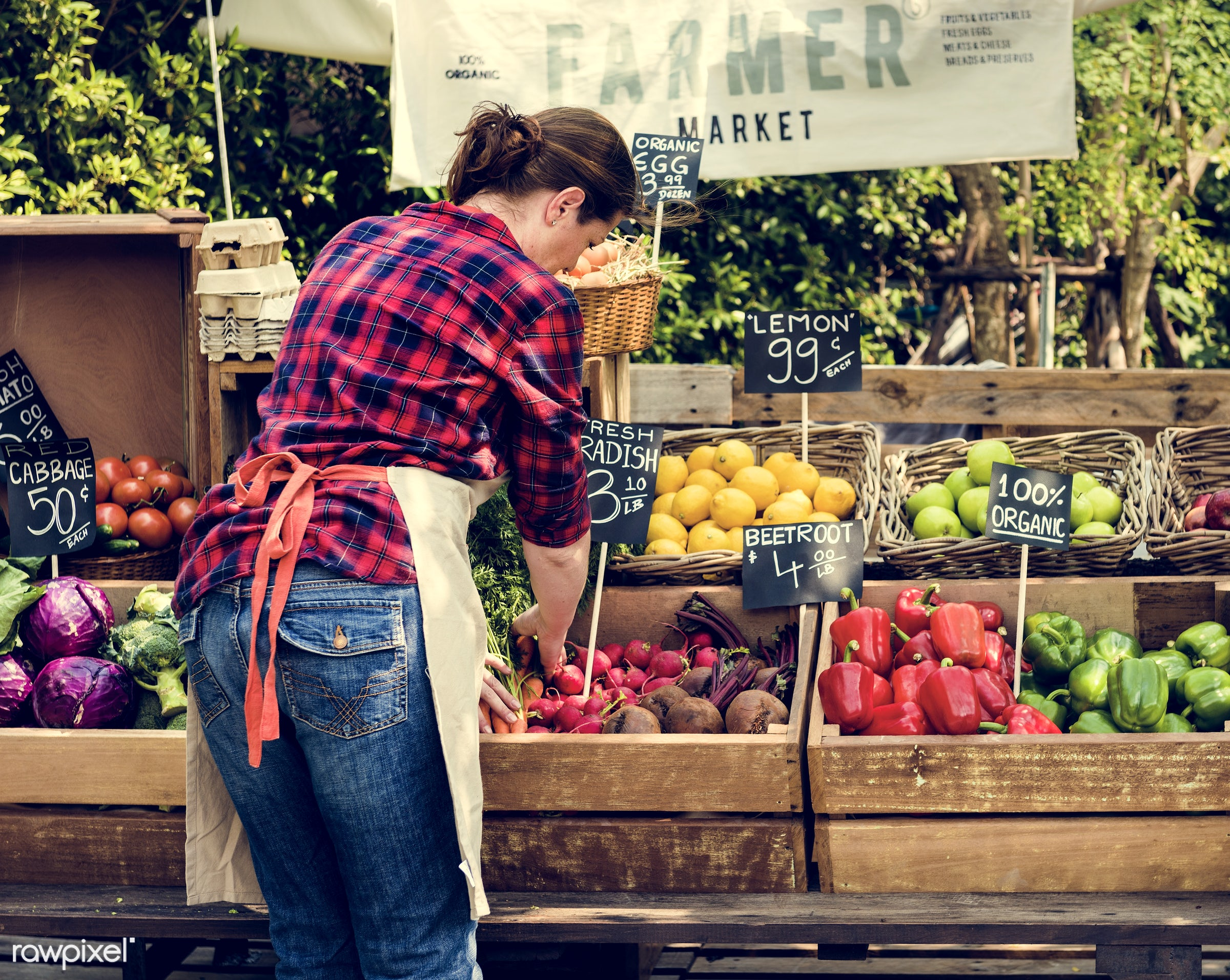 grocery, person, stall, store, people, lifestyle, smiling, fruit, selling, health, nutrition, market, gardener, food, owner...