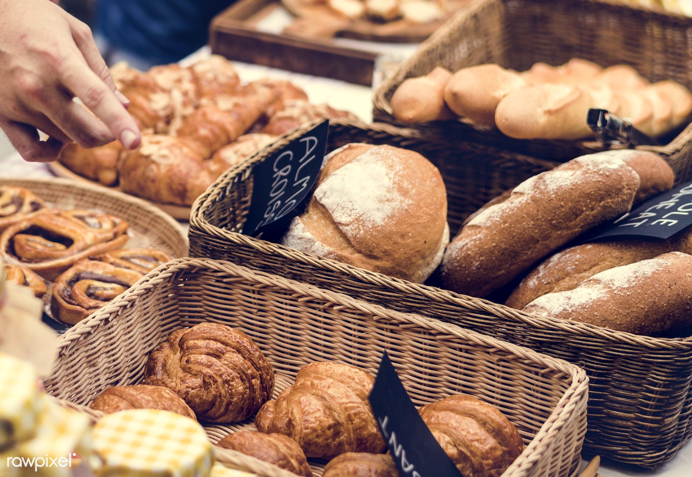 shop, cuisine, small business, variation, patissier, homemade, bread house, baked, bakery, dough, bread, gourmet, dessert,...