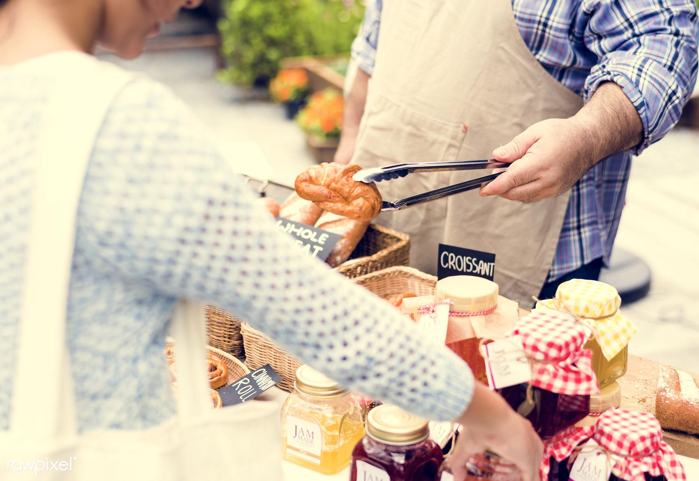shop, stall, store, diverse, customer, people, woman, selling, season, fun, health, nutrition, market, food, shopping,...