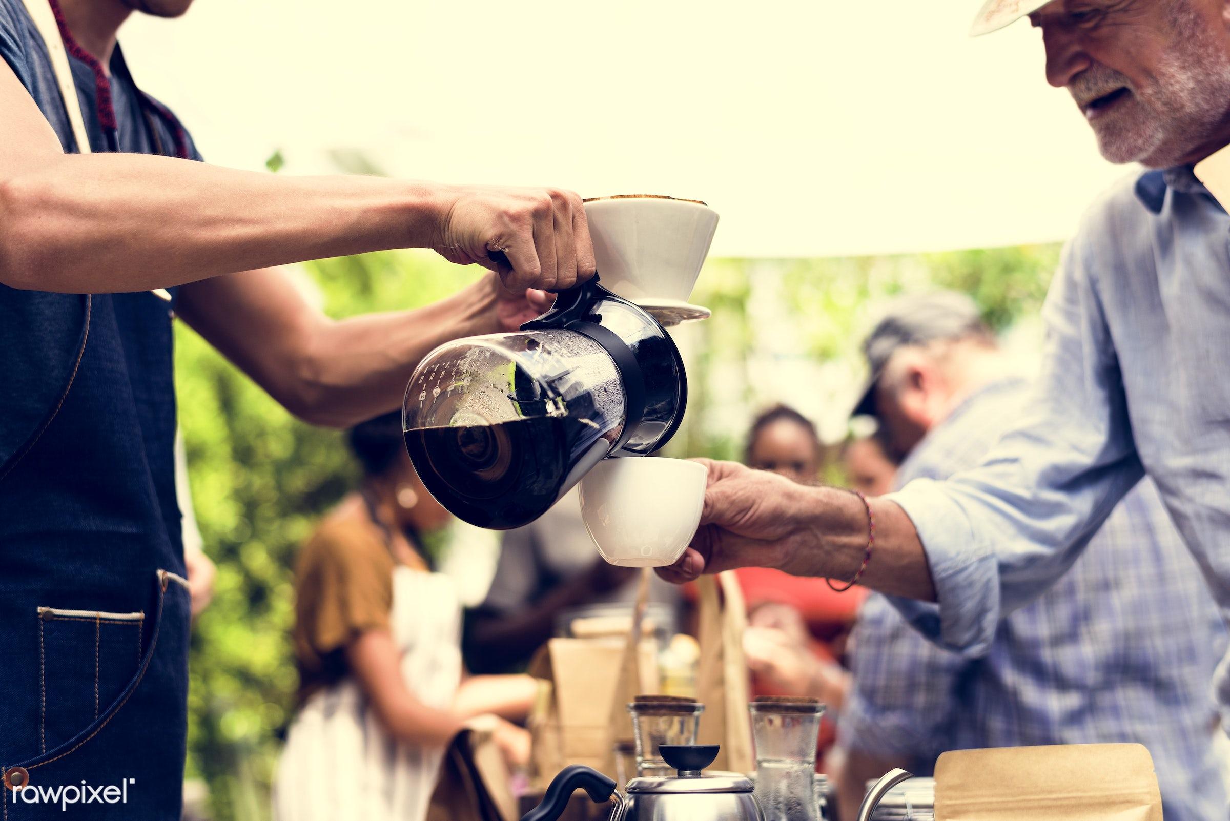 shop, person, aroma, caffeine, people, pot, farmer, brew, blend, lifestyle, drink, refresh, preparation, coffee, refreshment...