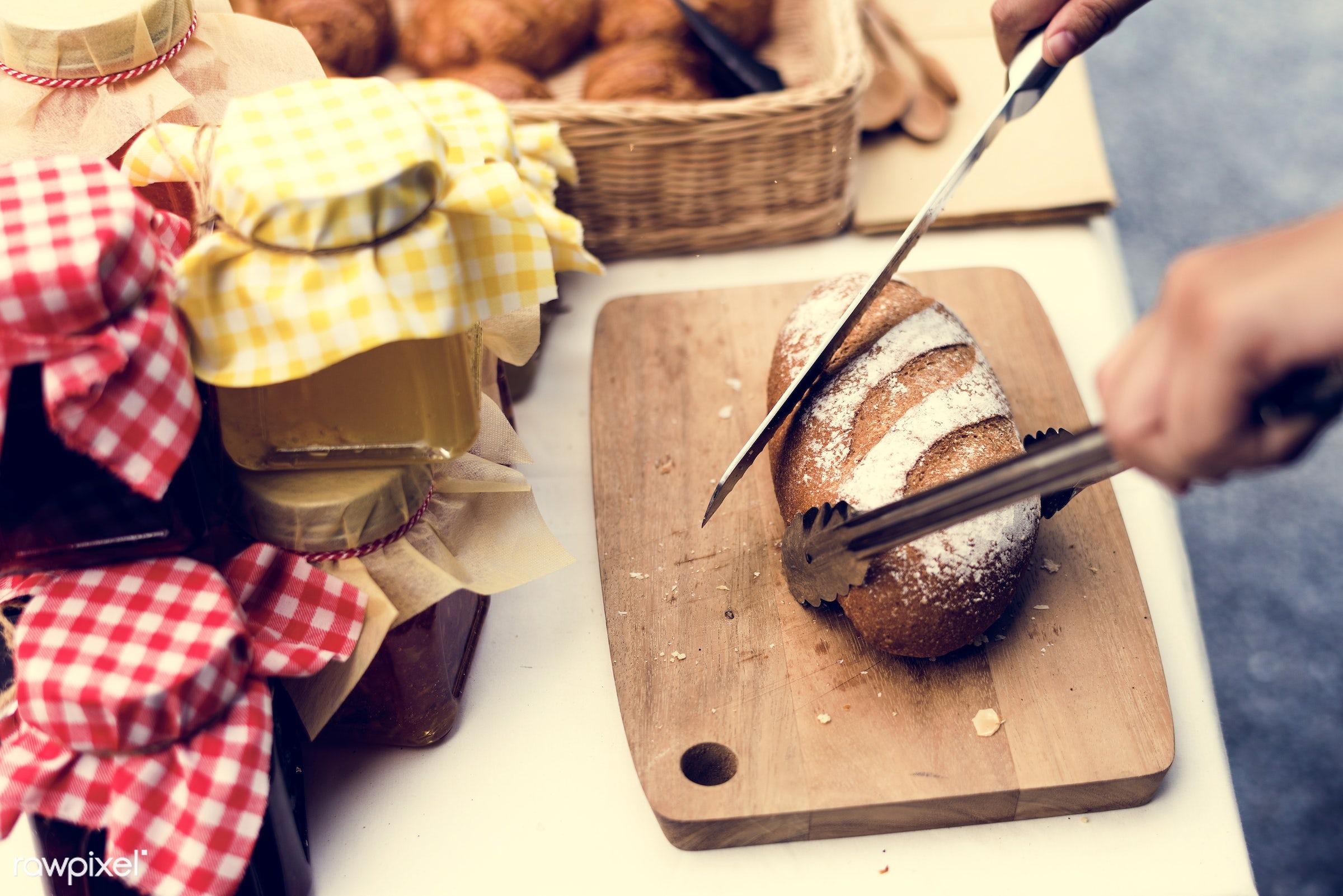 grocery, shop, cutout, stall, pastries, cuisine, bake, goods, homemade, baked, taste, bakery, fresh, bread, various, jam,...