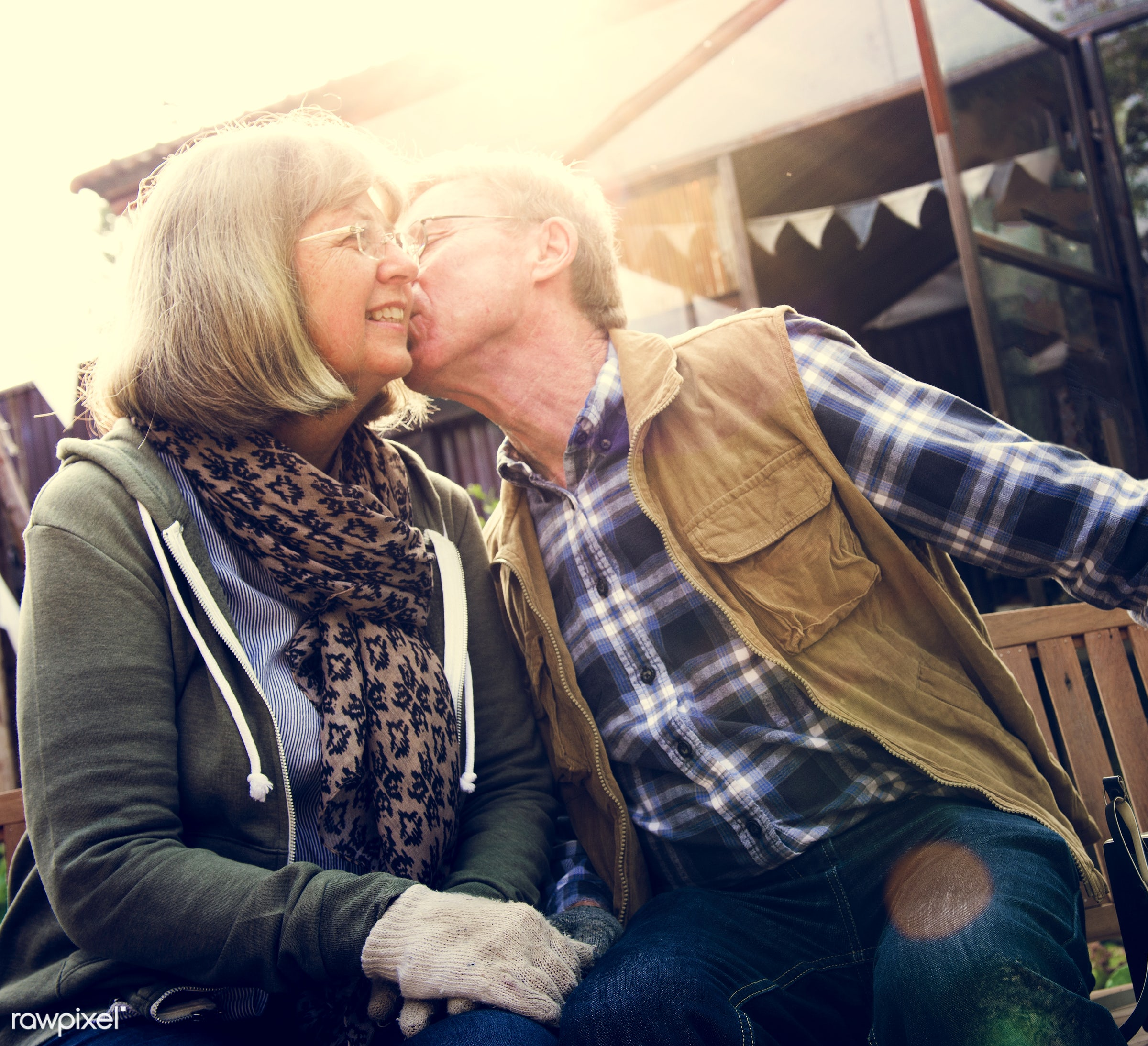 expression, person, show, smitten, people, together, love, kiss, retirement, cherish, family, woman, lifestyle, intimate,...