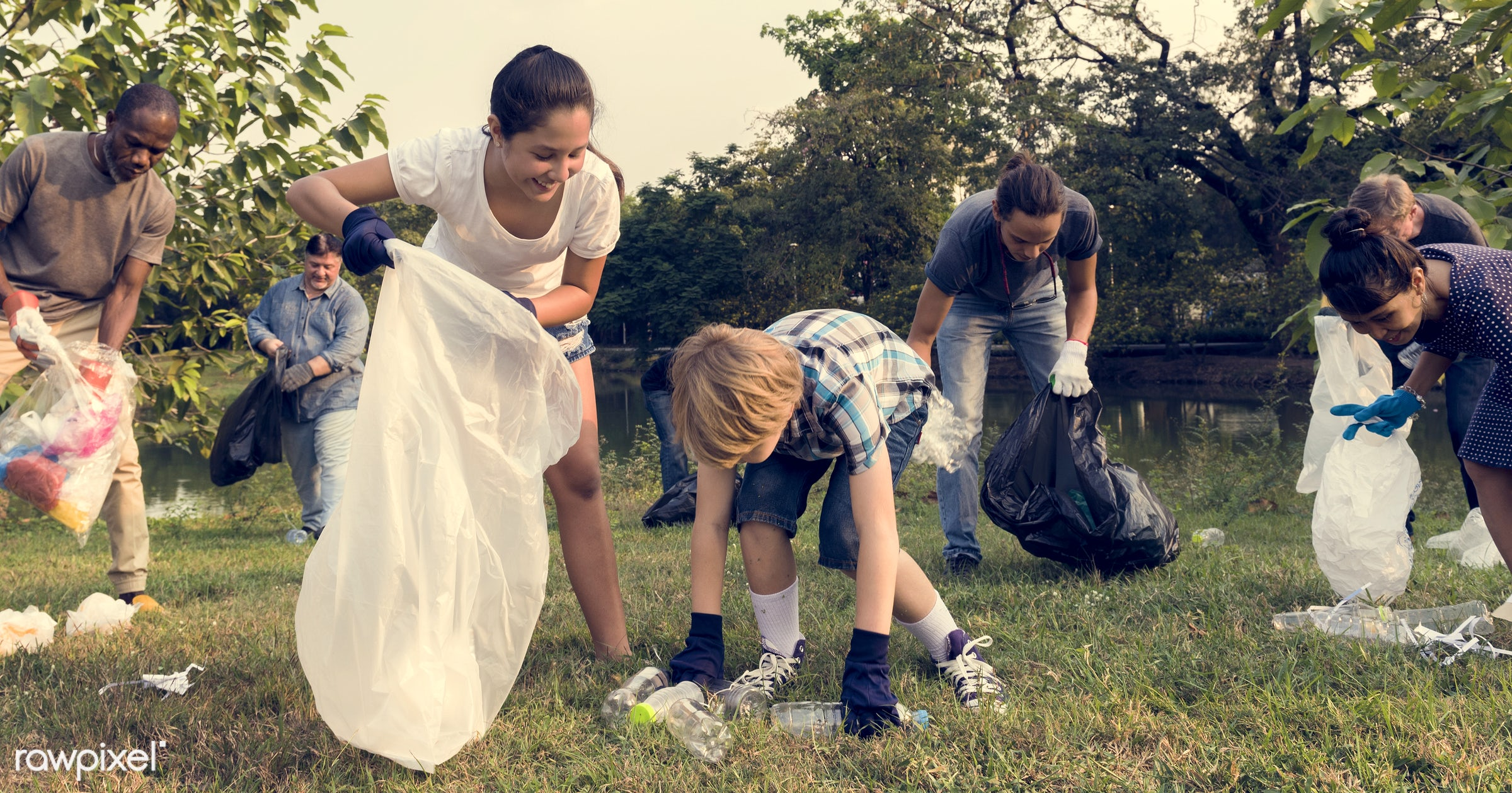 person, diverse, charity, garbage, people, together, kid, friends, nature, social, family, woman, lifestyle, care, voluntary...