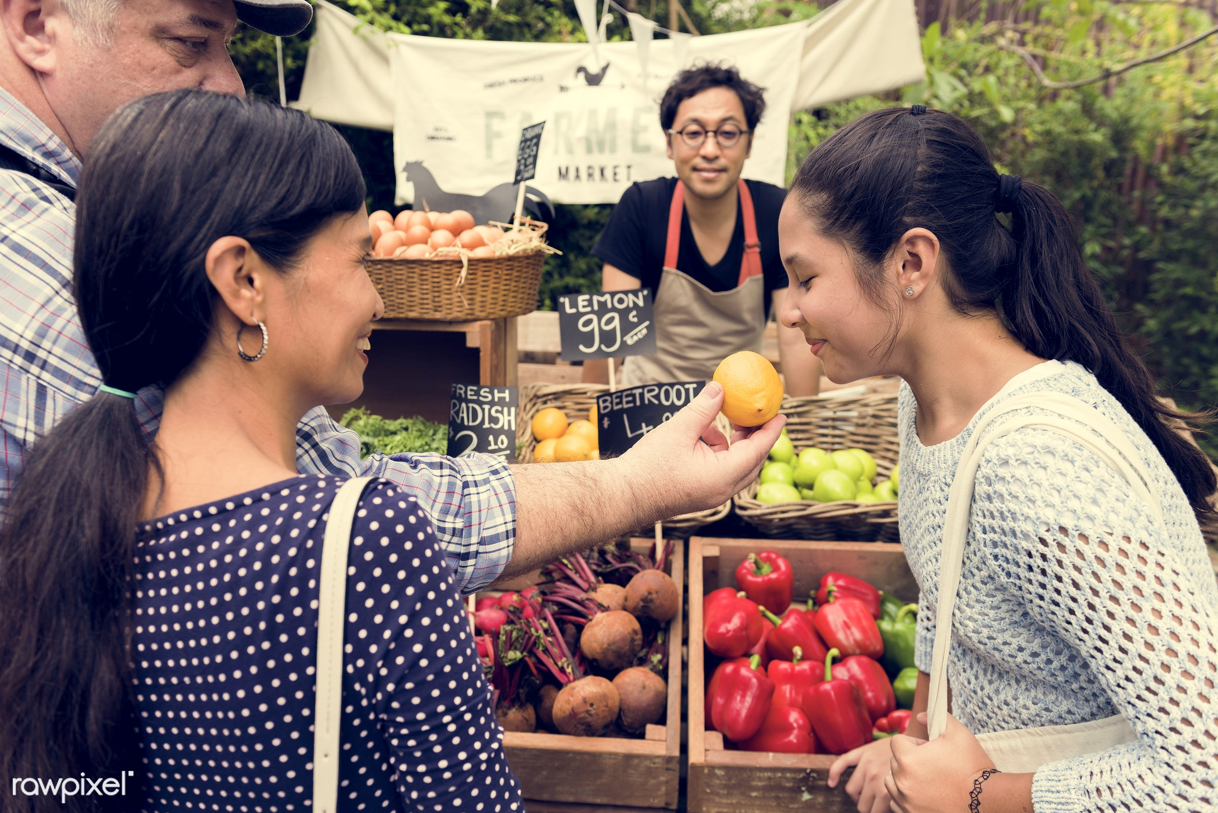 grocery, person, store, stall, people, lifestyle, smiling, fruit, selling, health, nutrition, market, gardener, food, owner...