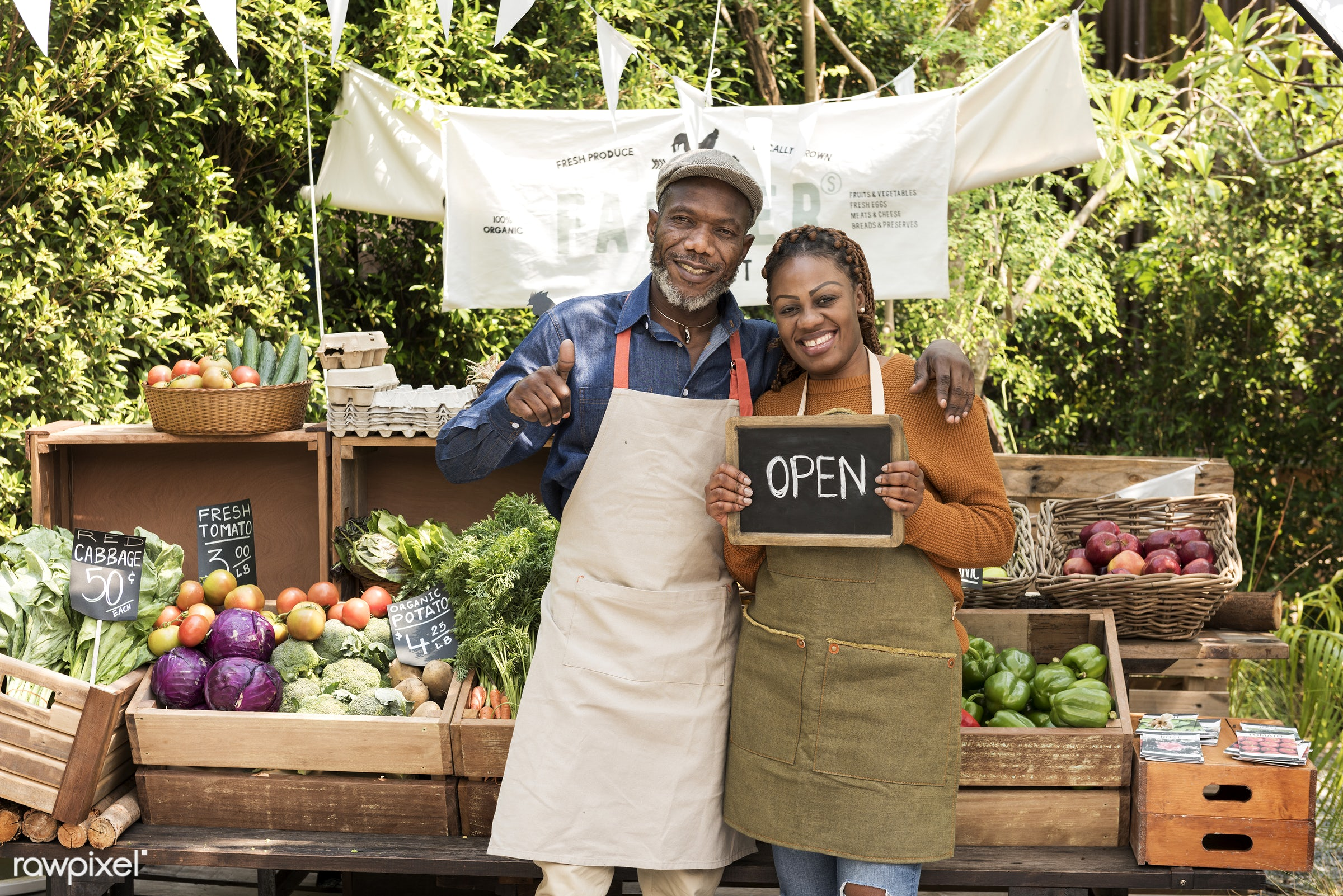 grocery, person, store, stall, people, woman, lifestyle, smiling, partnership, fruit, selling, african descent, health,...