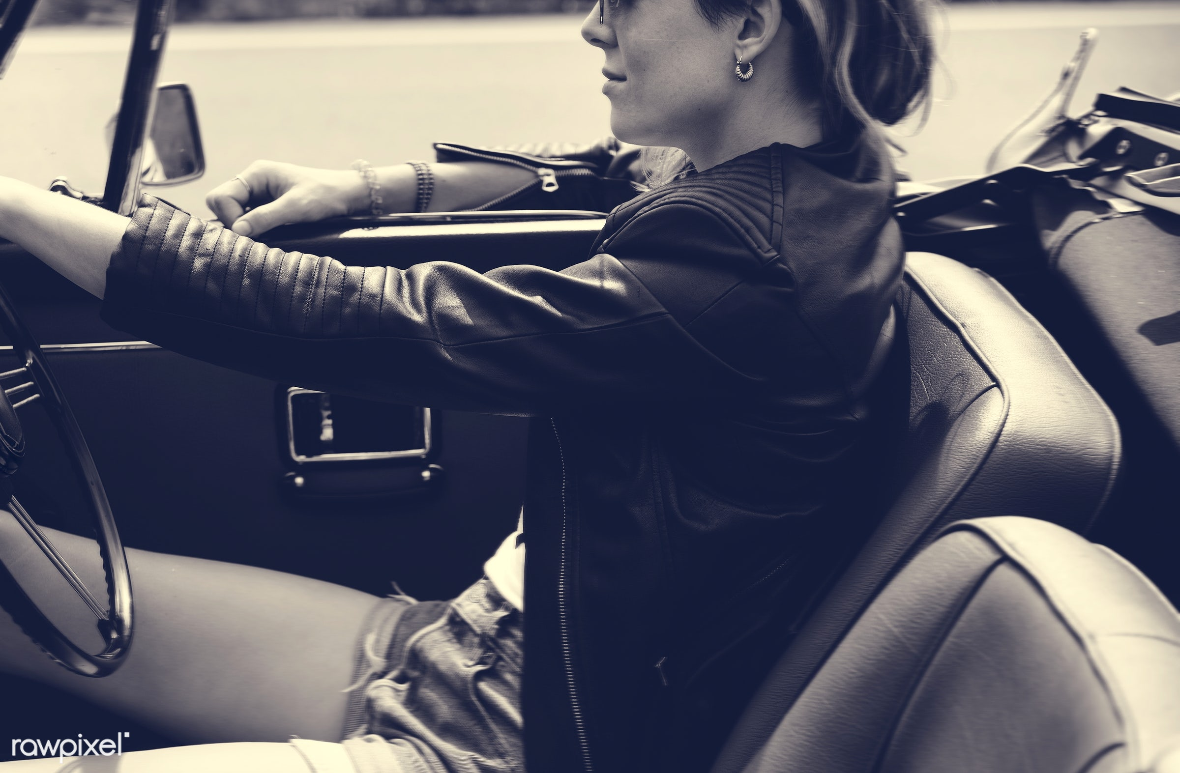 adult, adventure, attractive, beauty, car, down, drive, driving, female, flag, gypsy, hippy, hipster, journey, joyful,...