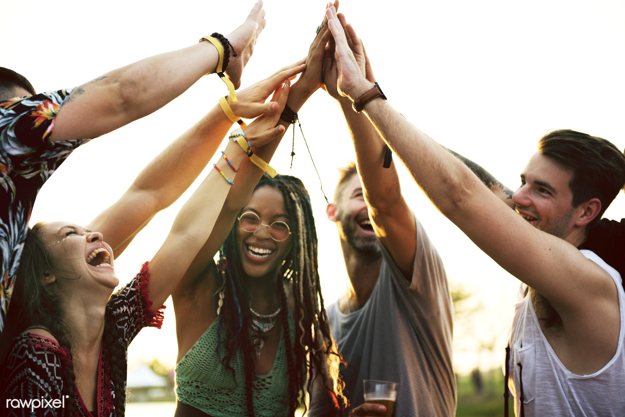 activity, adults, best friends, bonding, buddy, carefree, concert, crowd, culture, diversity, enjoying, enjoyment,...
