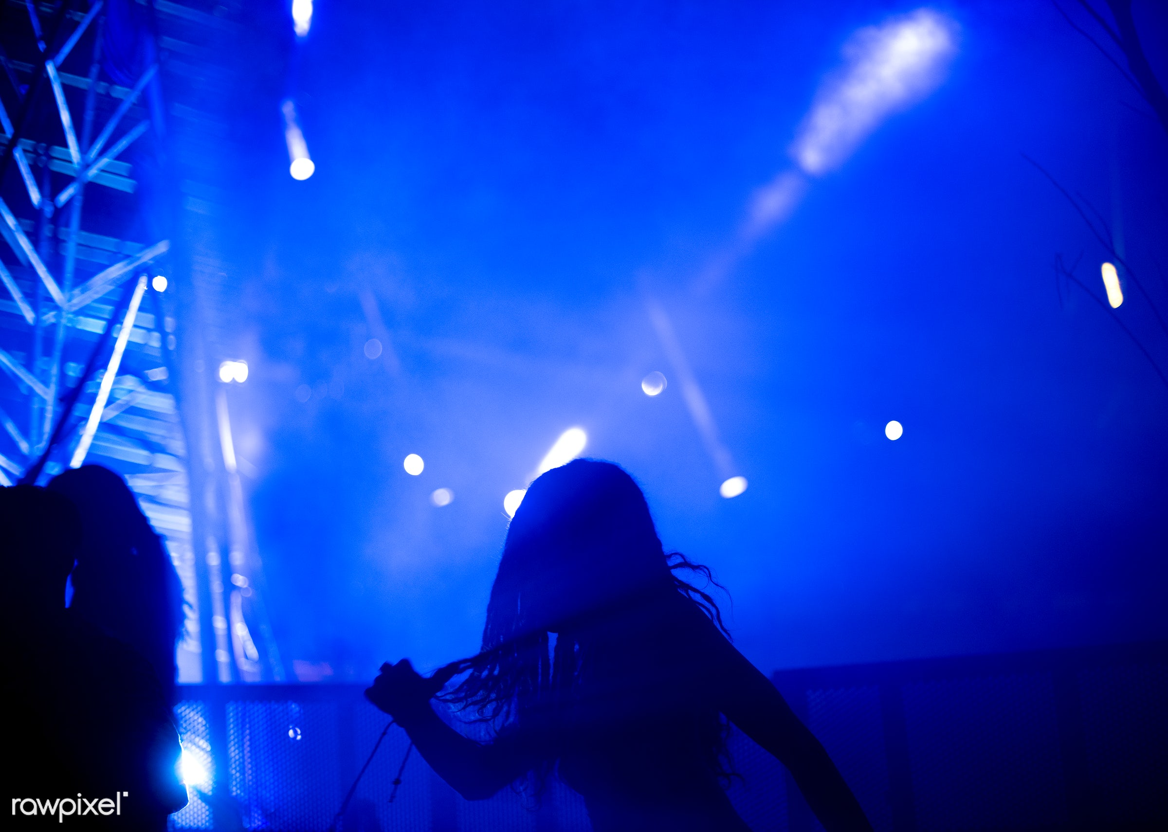 illuminated, concert, person, show, perform, party, people, production, woman, event, mixing, lifestyle, musician,...