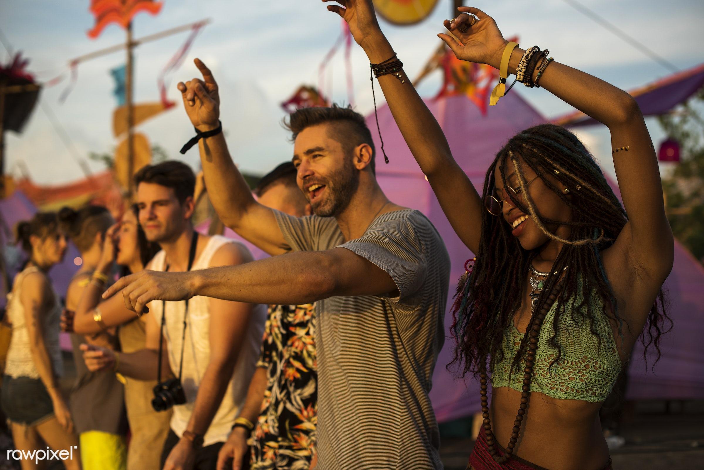 activity, adults, carefree, concert, crowd, diversity, enjoying, enjoyment, entertainment, event, festival, friends,...