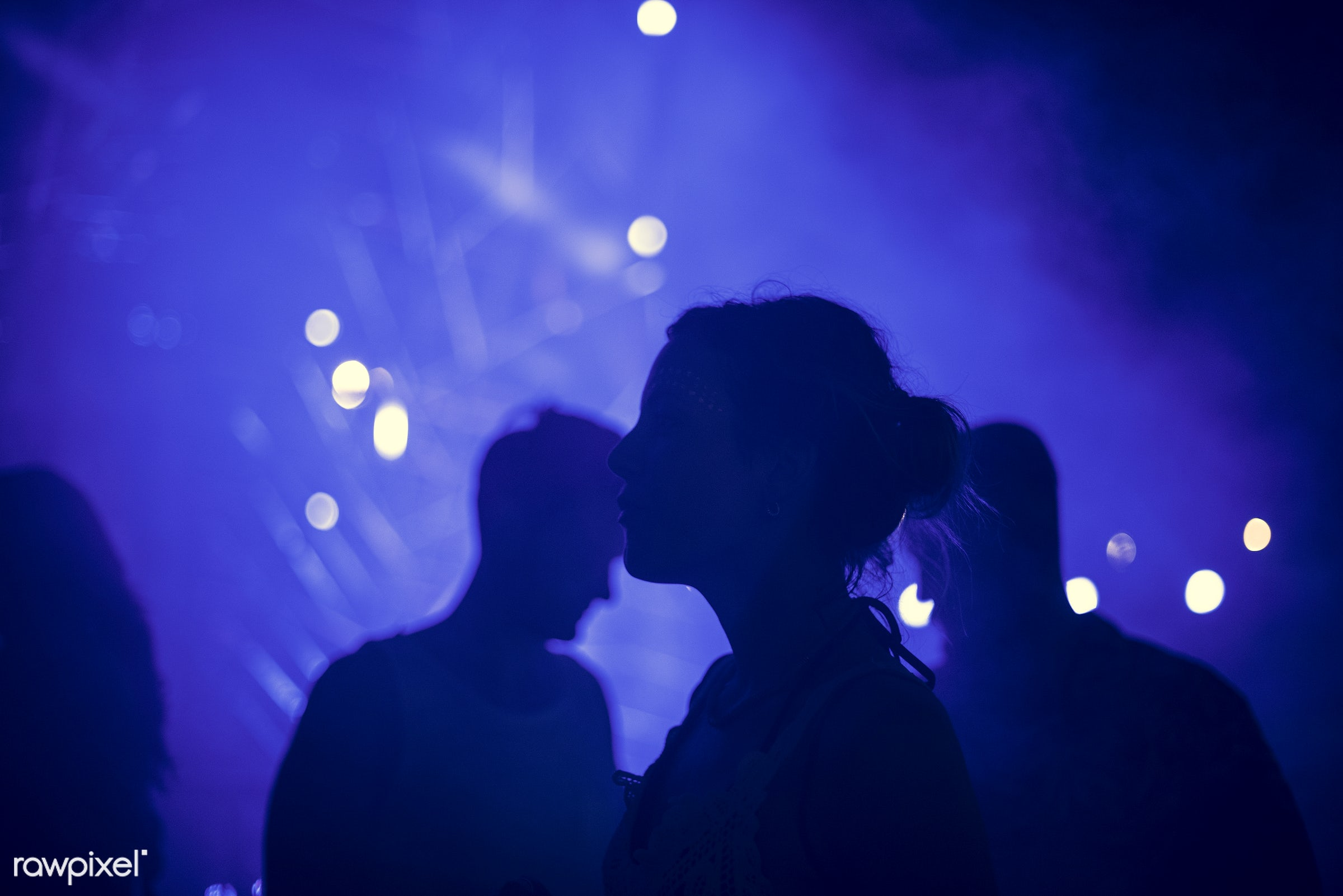 illuminated, concert, person, relax, silhouette, perform, show, party, people, event, mixing, woman, lifestyle, weekend,...