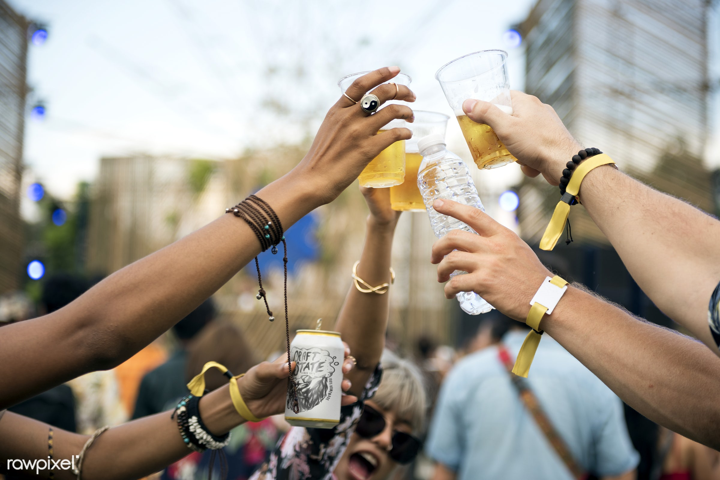 beer, activity, adult, adults, alcohol, beverage, carefree, celebrating, cheers, concert, crowd, diversity, draft, drink,...