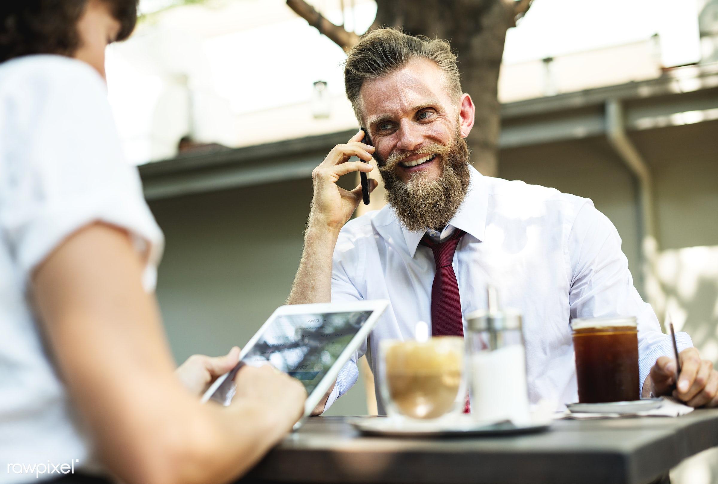 business, beard, meeting, talking, agreement, beverage, brainstorming, cafe, cc0, coffee, coffee shop, communication,...