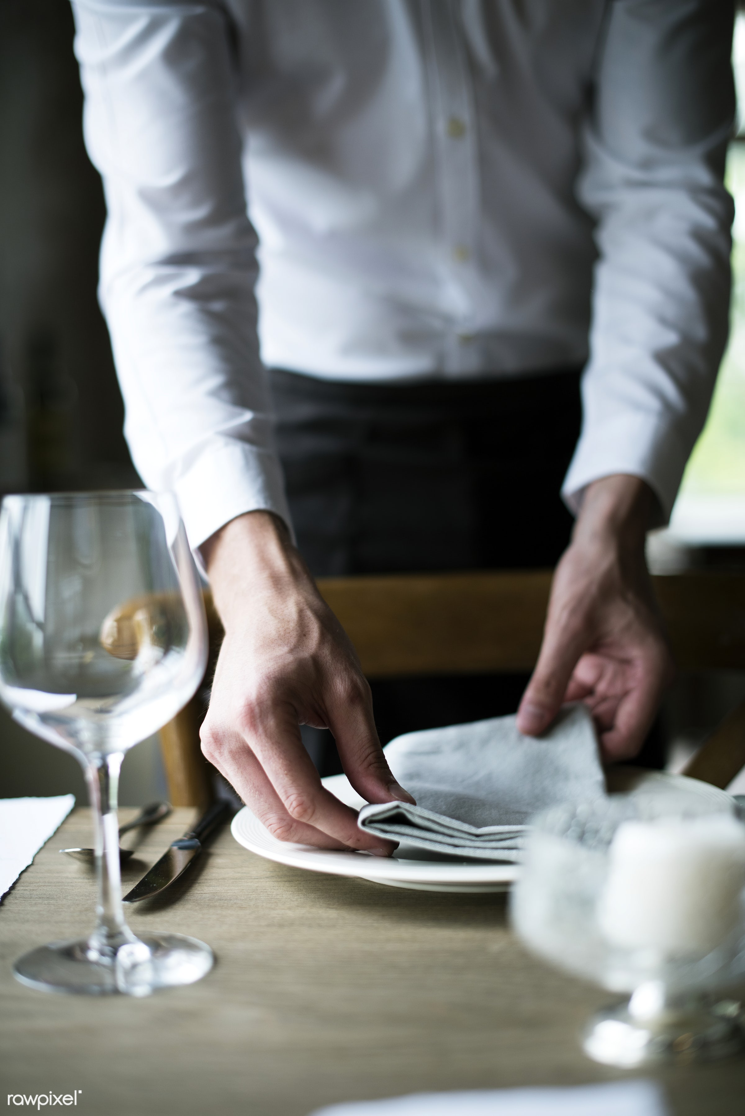 waiter, activity, arrangement, banquet, candles, catering, celebrate, celebration, cutlery, decoration, dining, dining table...