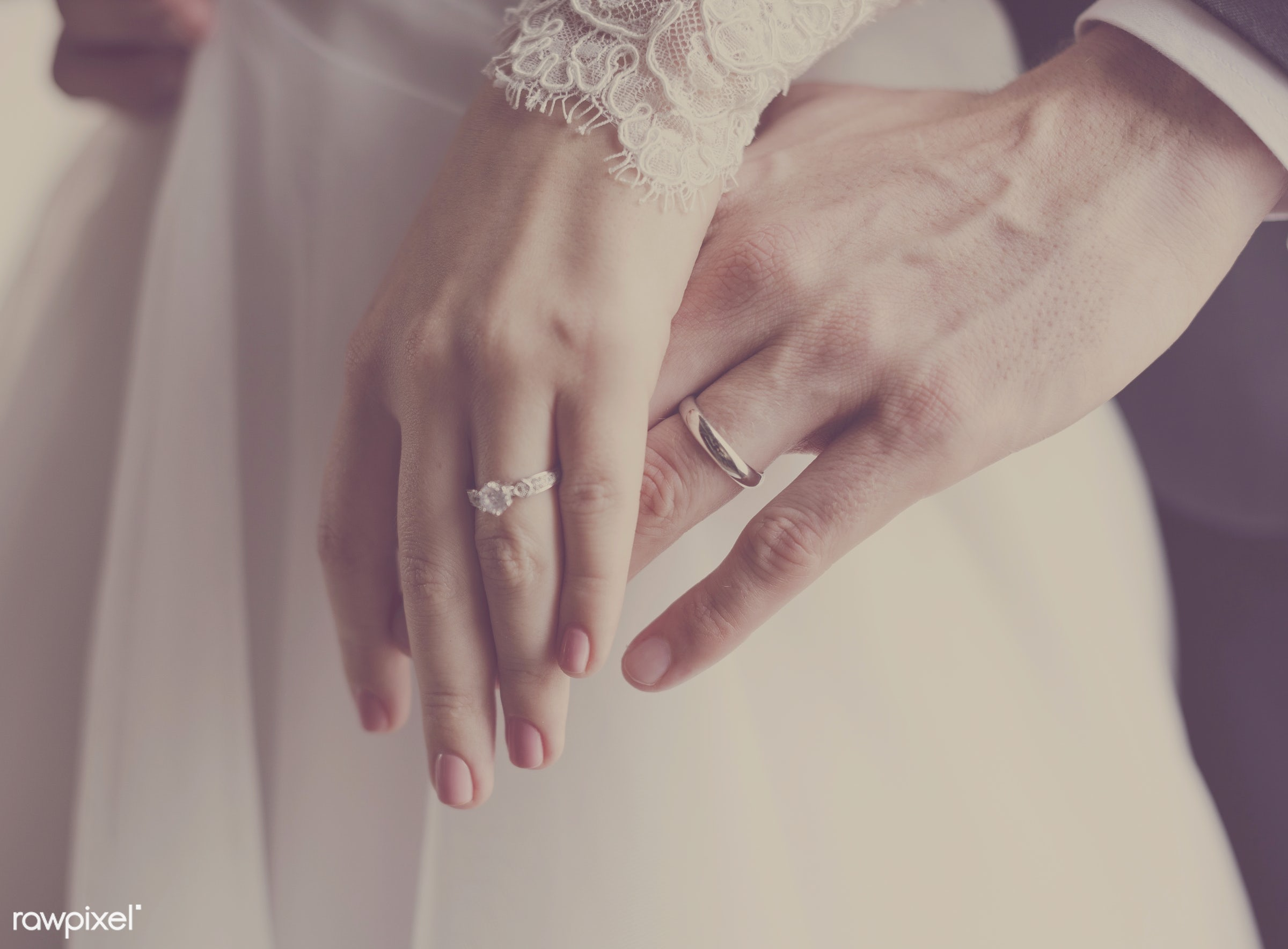 person, show, husband, people, together, love, married, hands, woman, men, bride, man, ring, elegance, happiness, adult,...
