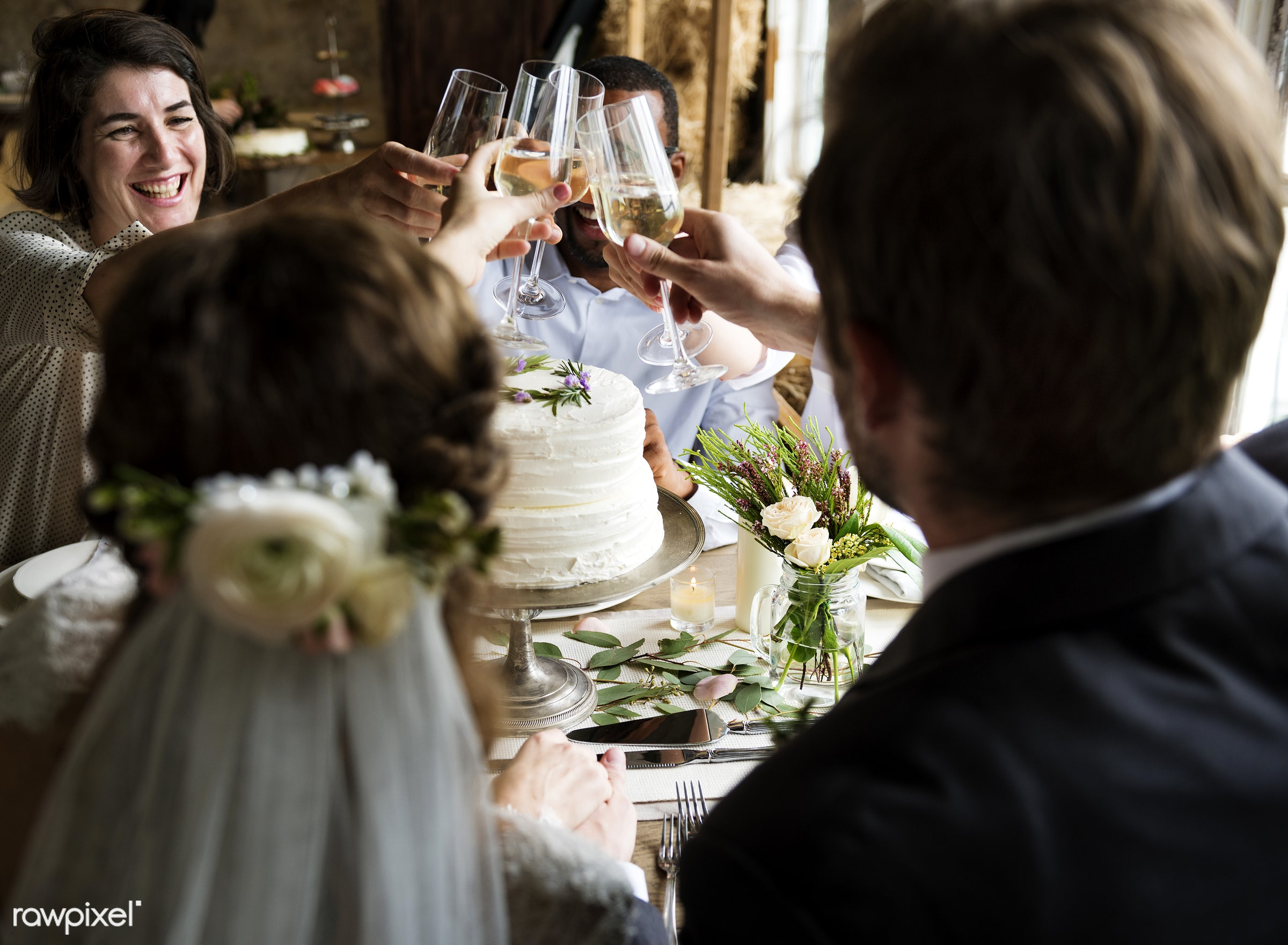 expression, person, people, together, love, friends, married, gather, woman, drink, friendship, flowers, wine, cake,...