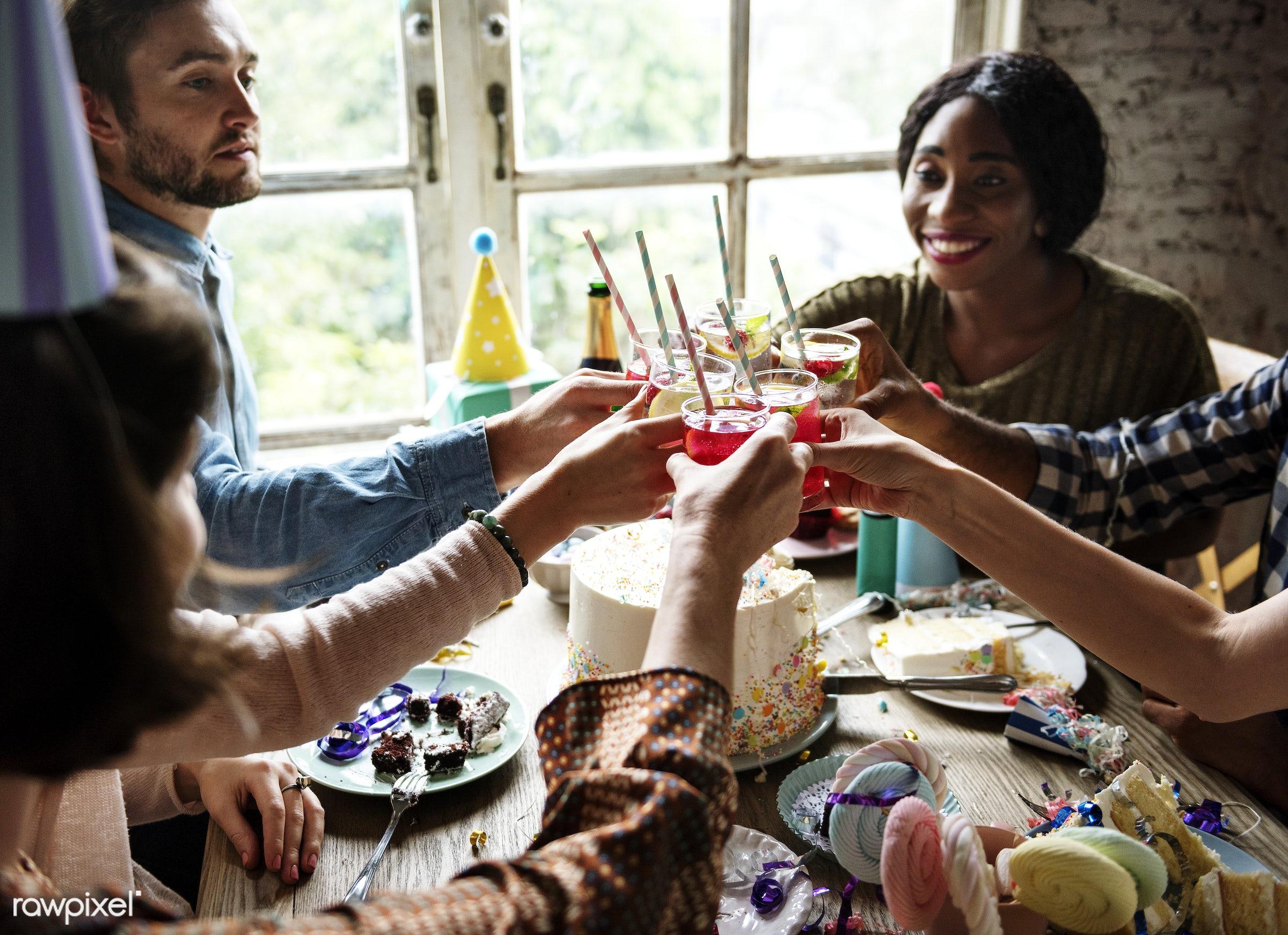 soda, bakery, birthday, cakes, celebrate, celebration, cheerful, cheers, delicious, dessert, diverse, diversity, drink,...