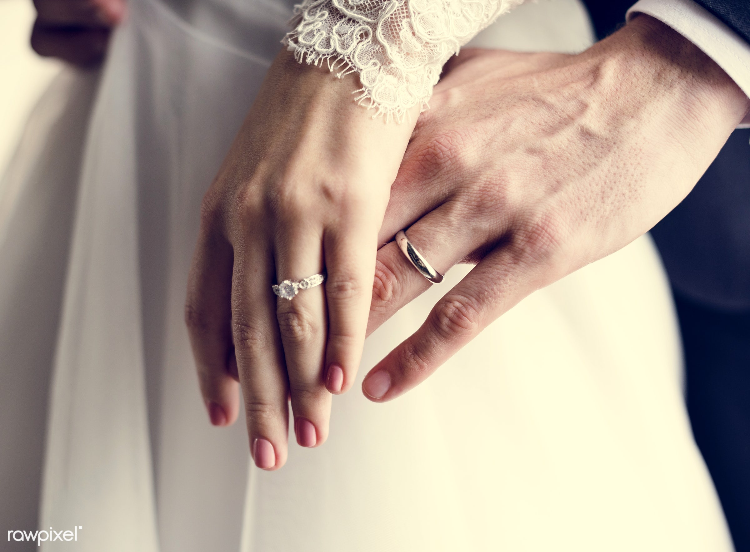 person, hug, holding, show, smitten, people, together, caucasian, glamour, love, woman, on, gown, rings, cheerful, marry,...