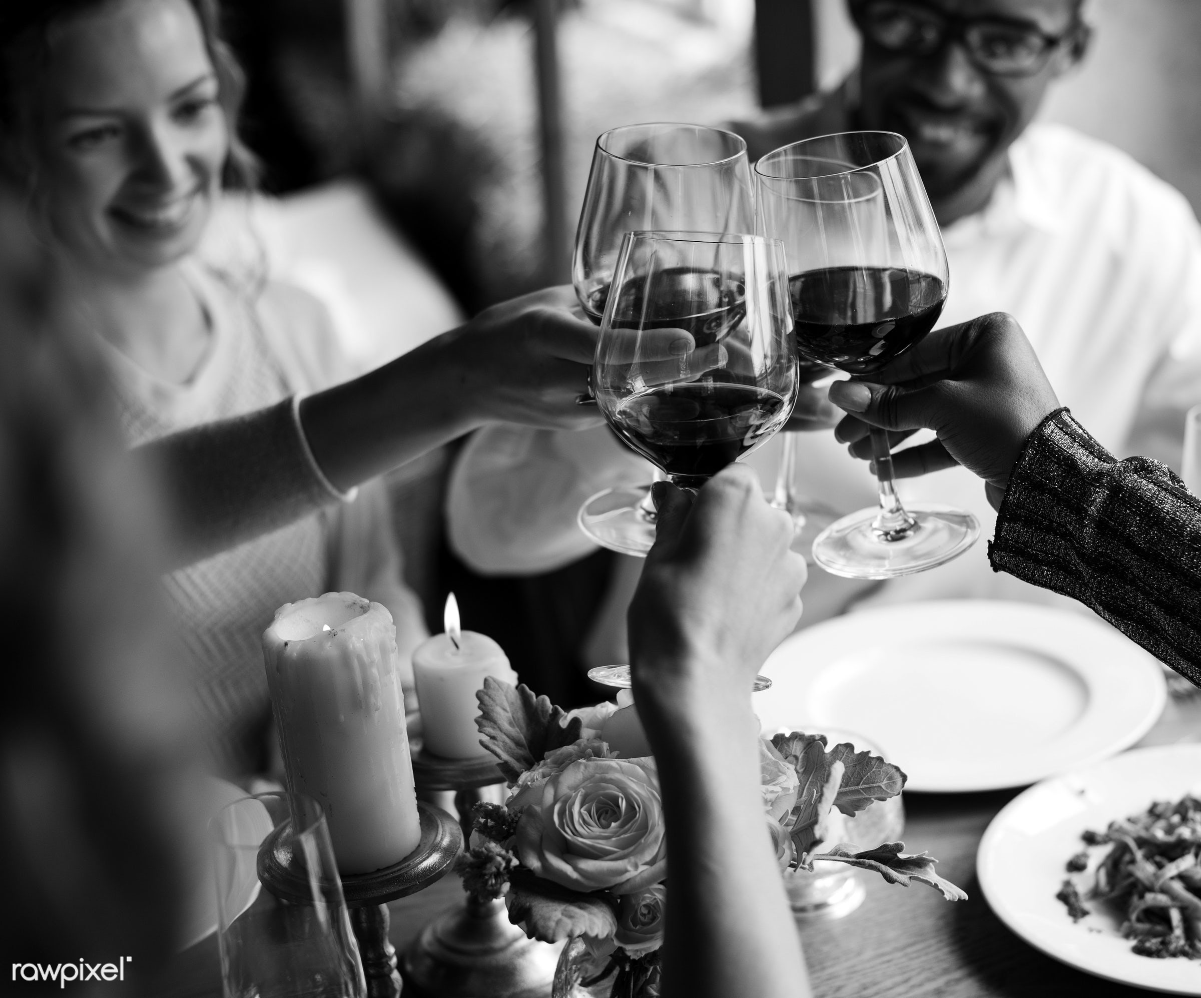 expression, person, cuisine, people, dished, together, caucasian, friends, woman, gather, drink, candles, friendship, lunch...