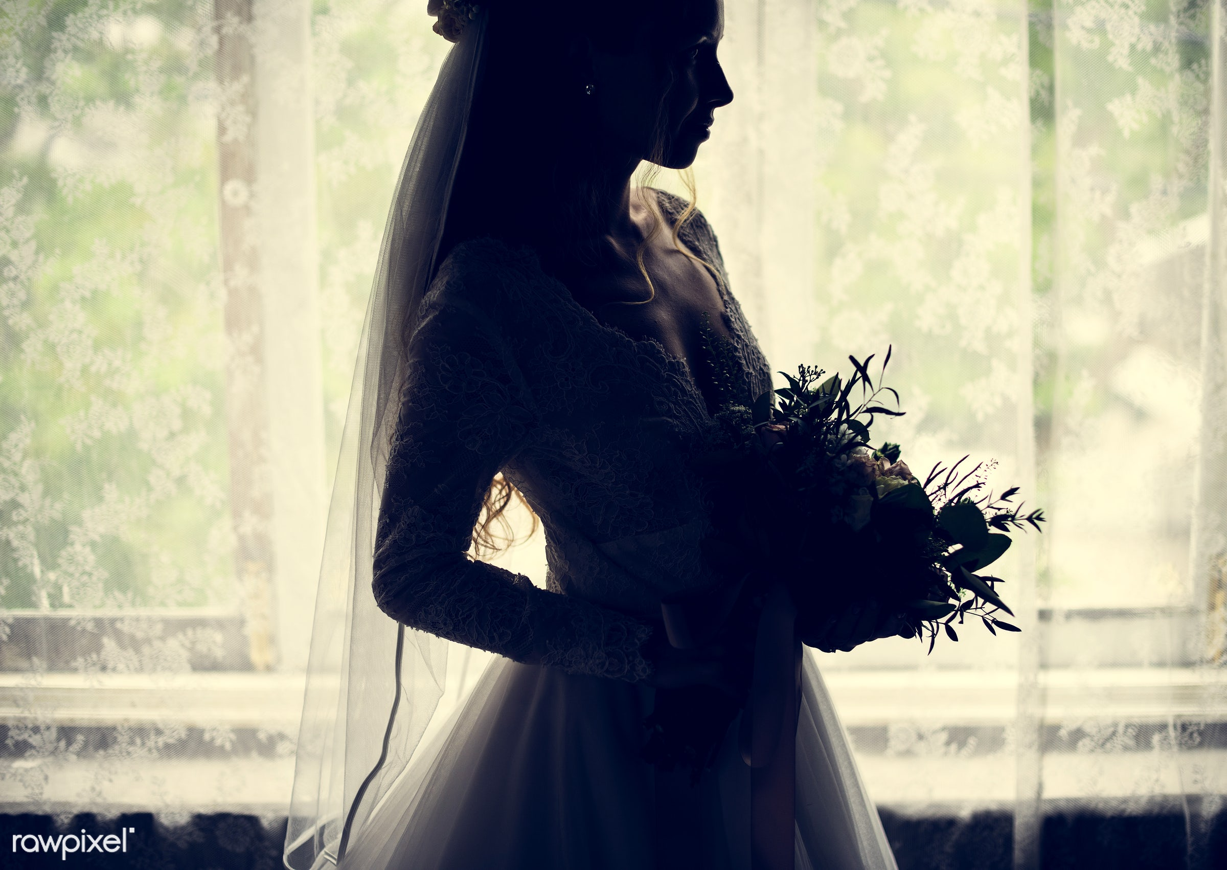 bouquet, person, holding, bonding, people, love, style, event, woman, back lit, care, bride, flower, marry, abstract,...