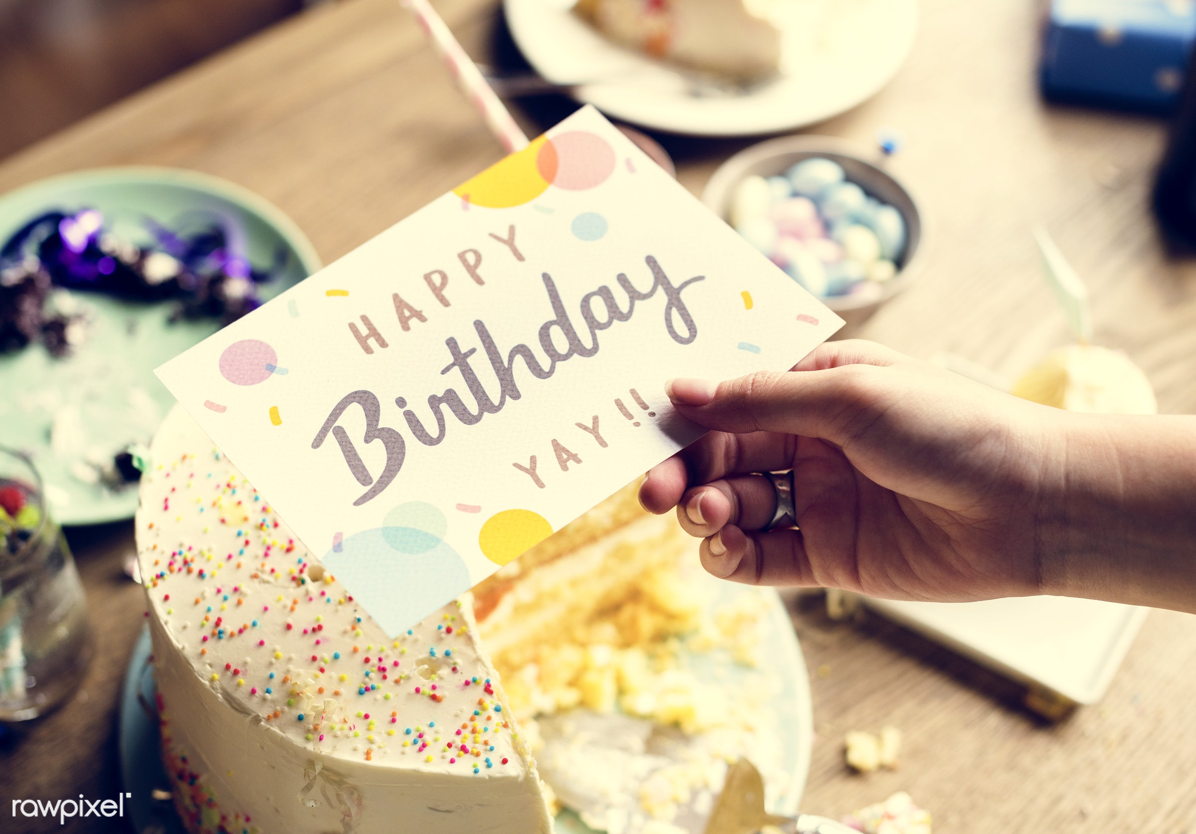 person, relax, wish, show, party, people, packaging, woman, card, cheerful, wrap, confetti, hold, happiness, fun, surprise,...