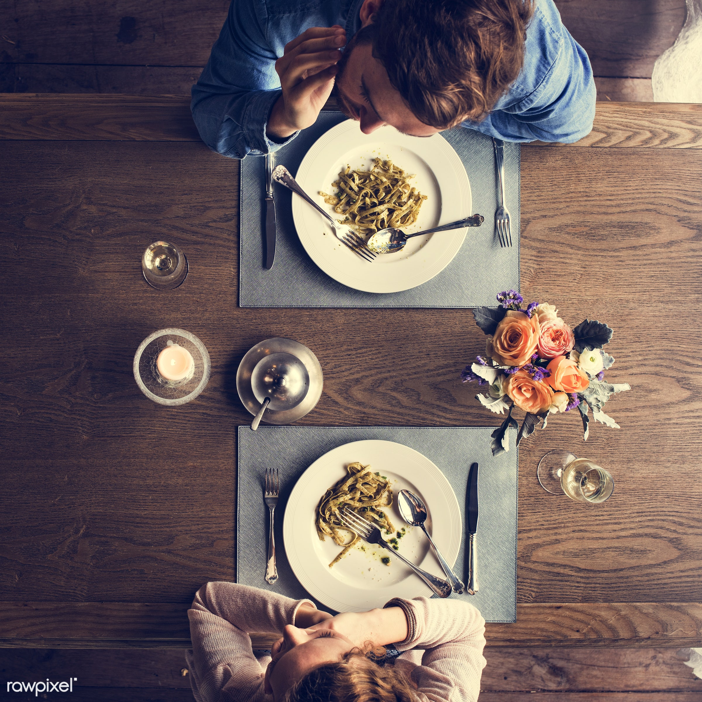 expression, person, people, together, caucasian, love, woman, gather, drink, candles, lunch, cheerful, flower, wine, hold,...