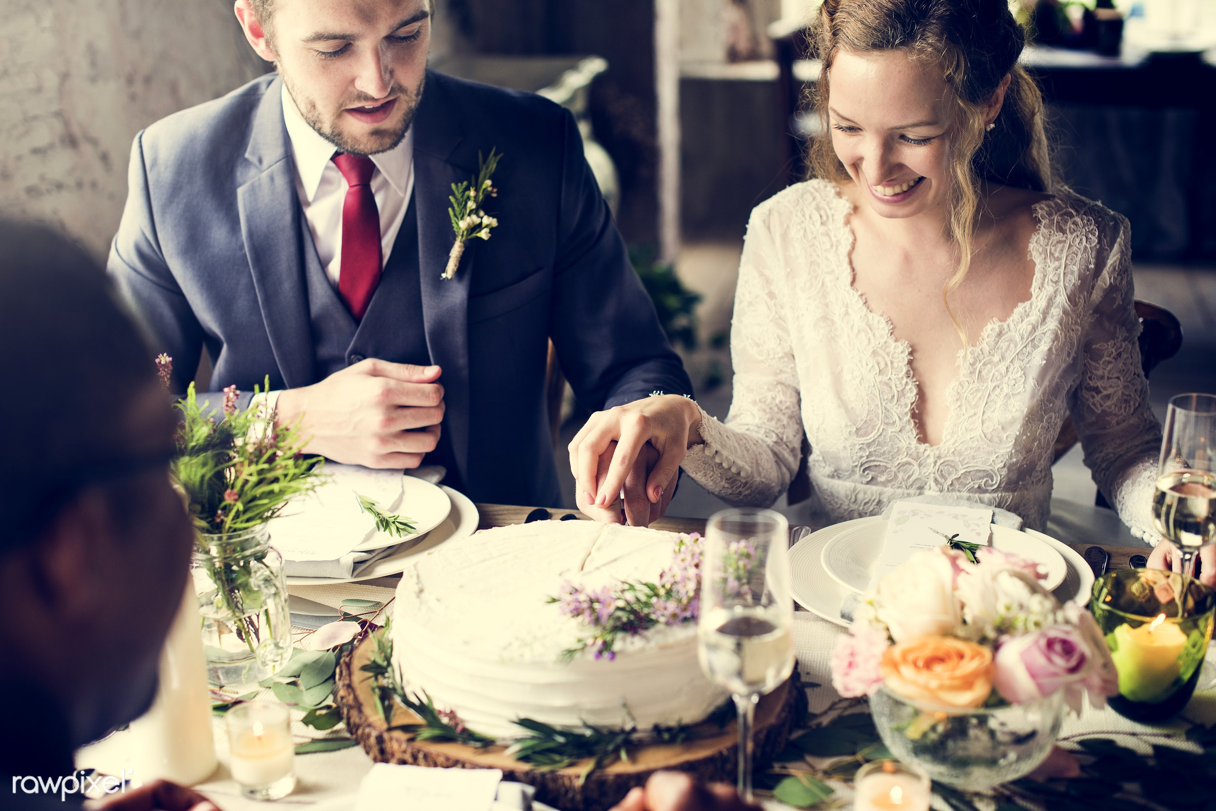 expression, person, smitten, people, together, love, married, friends, woman, family, event, gathering, cheerful, cake,...